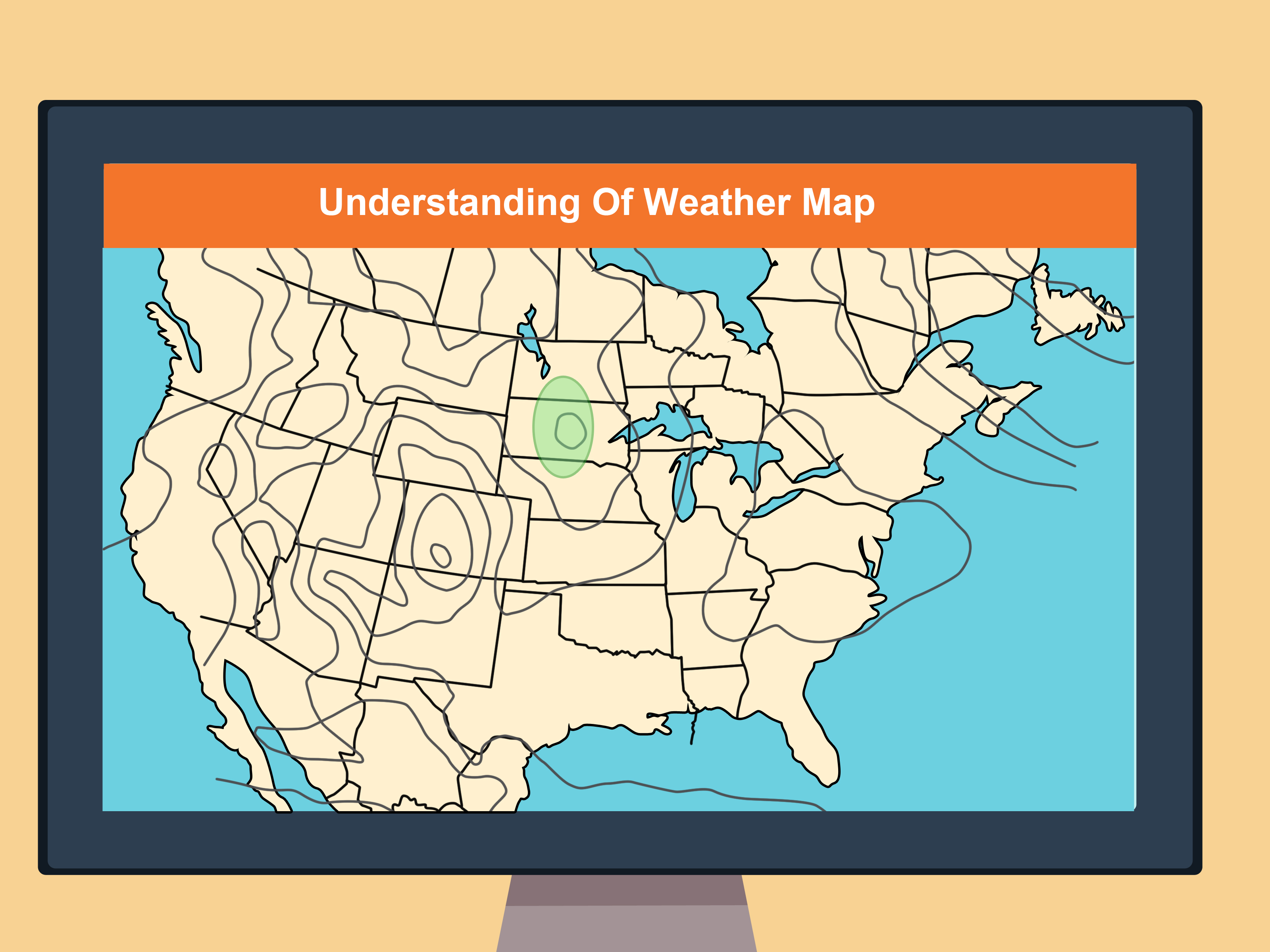 How To Read A Weather Map With Pictures