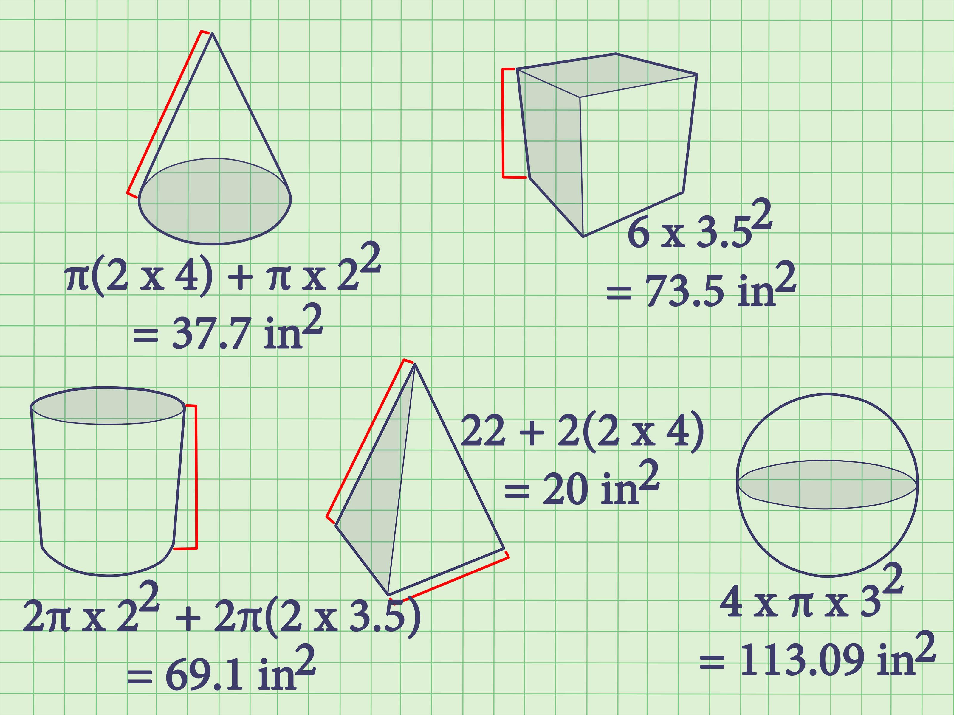 Geometry Circle Formulas