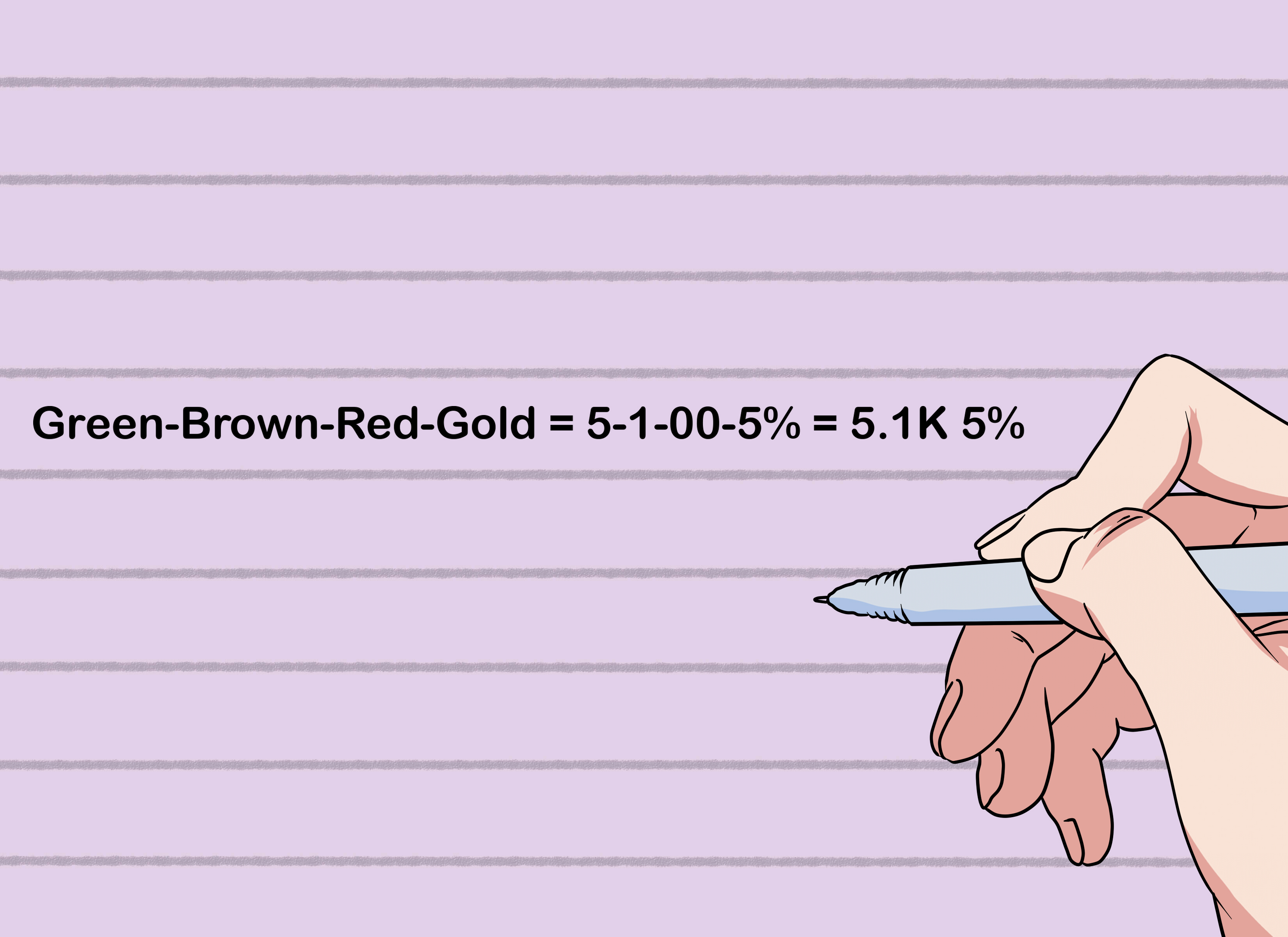 How To Remember Electrical Resistor Color Codes 5 Steps