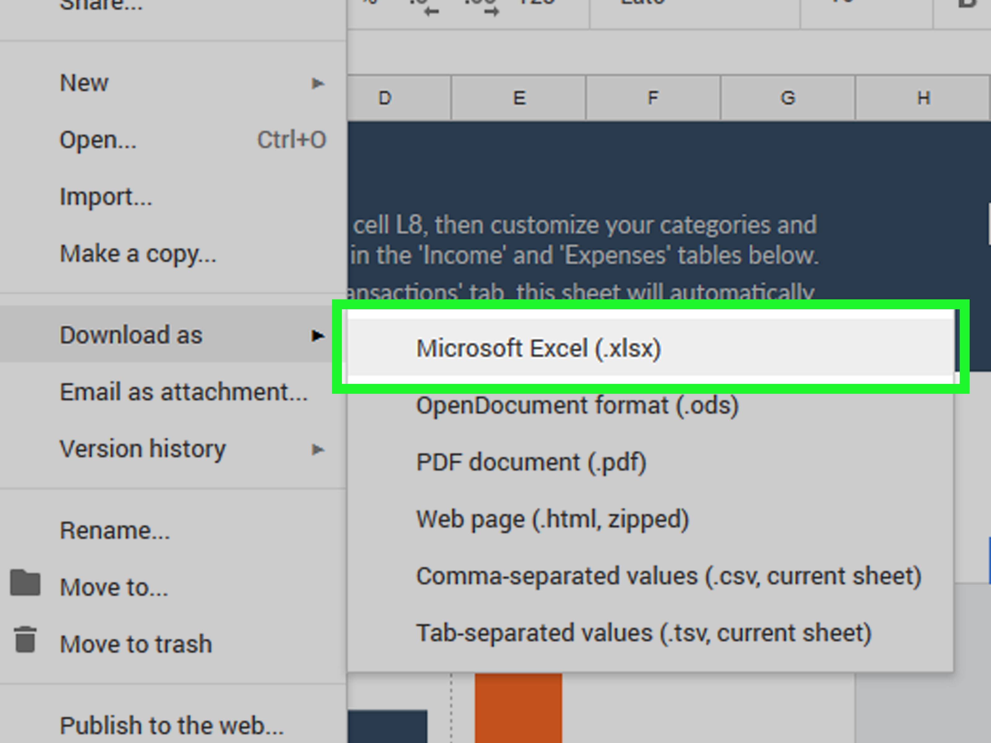 4 Ways To Make A Spreadsheet