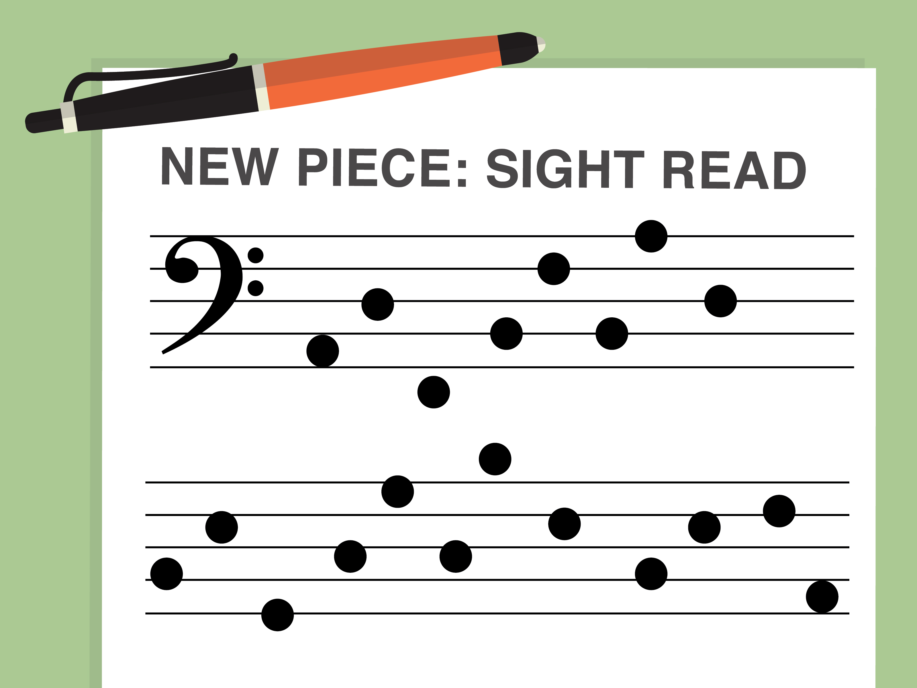 How To Read The Bass Clef 9 Steps With Pictures