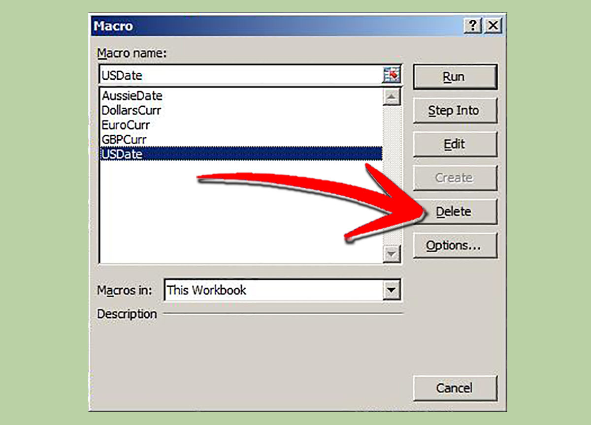 How To Remove A Macro In Excel 4 Steps With Pictures