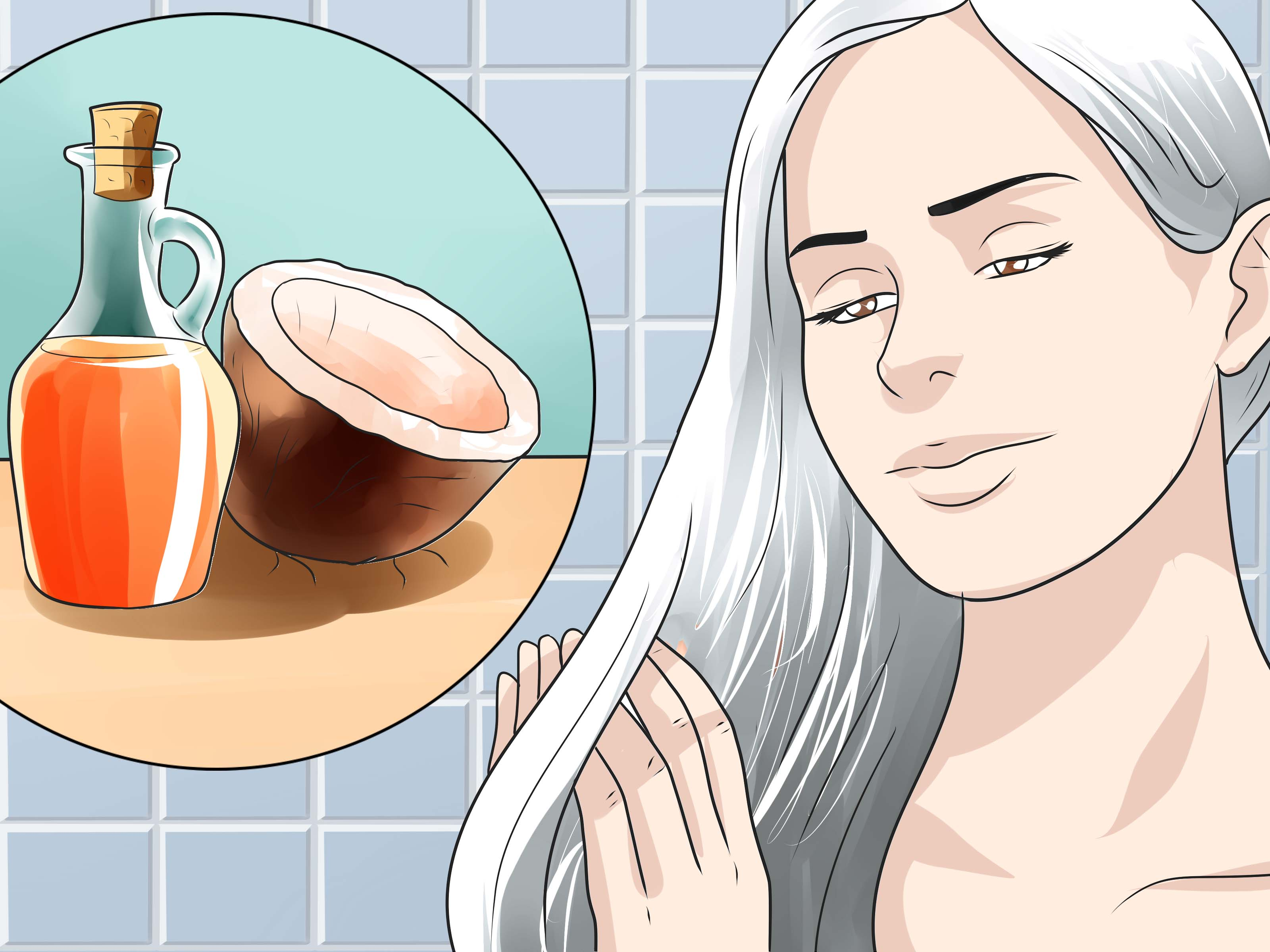 4 Ways To Get Silver Blonde Hair WikiHow