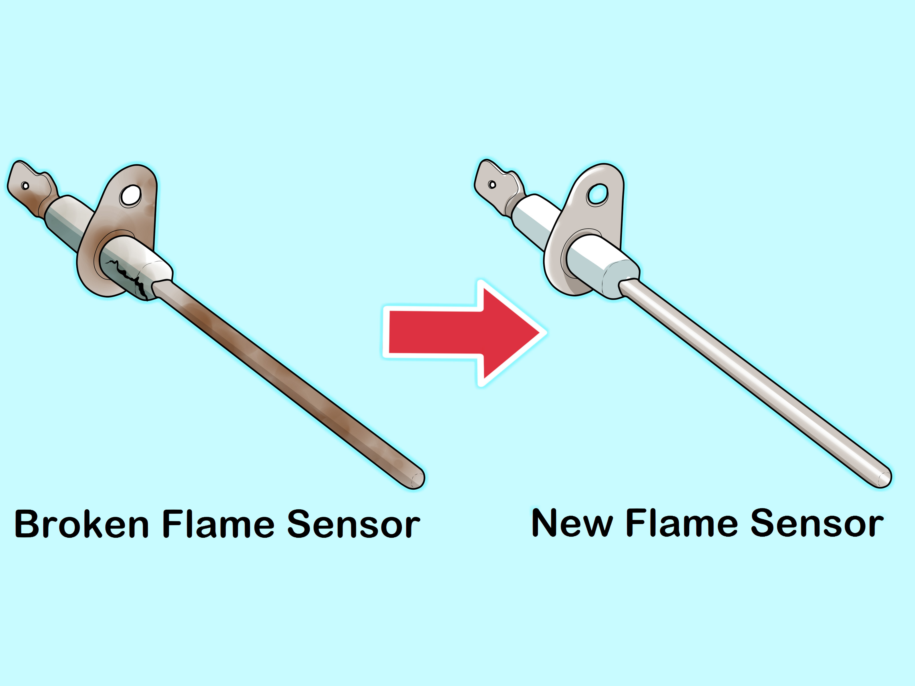 Gas Fireplace Flame Sensor Cleaning