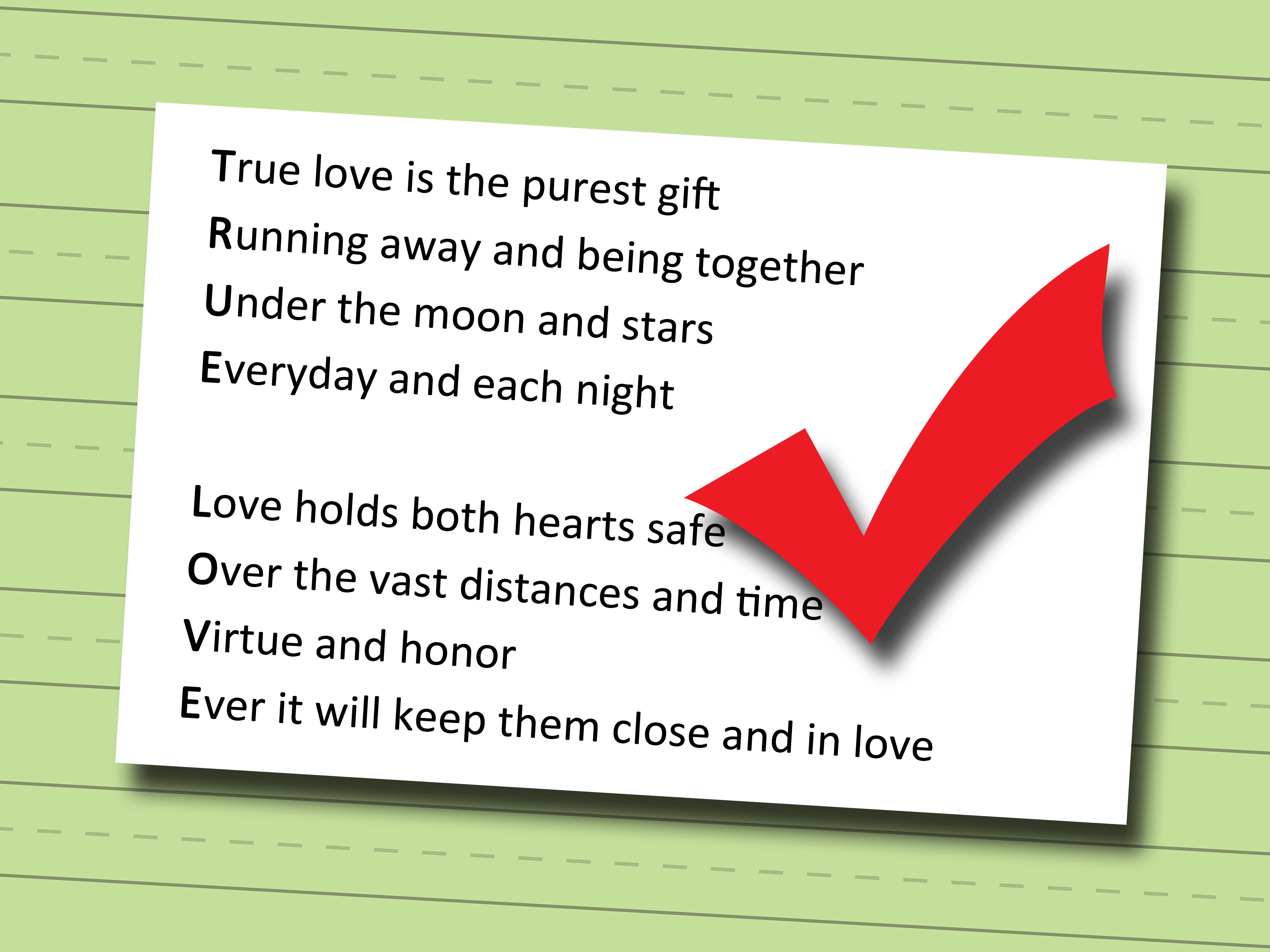 How To Write An Acrostic Poem With Sample Poems