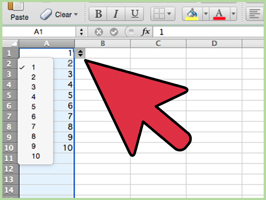 How To Create A Drop Down List From A Range Of Cells In