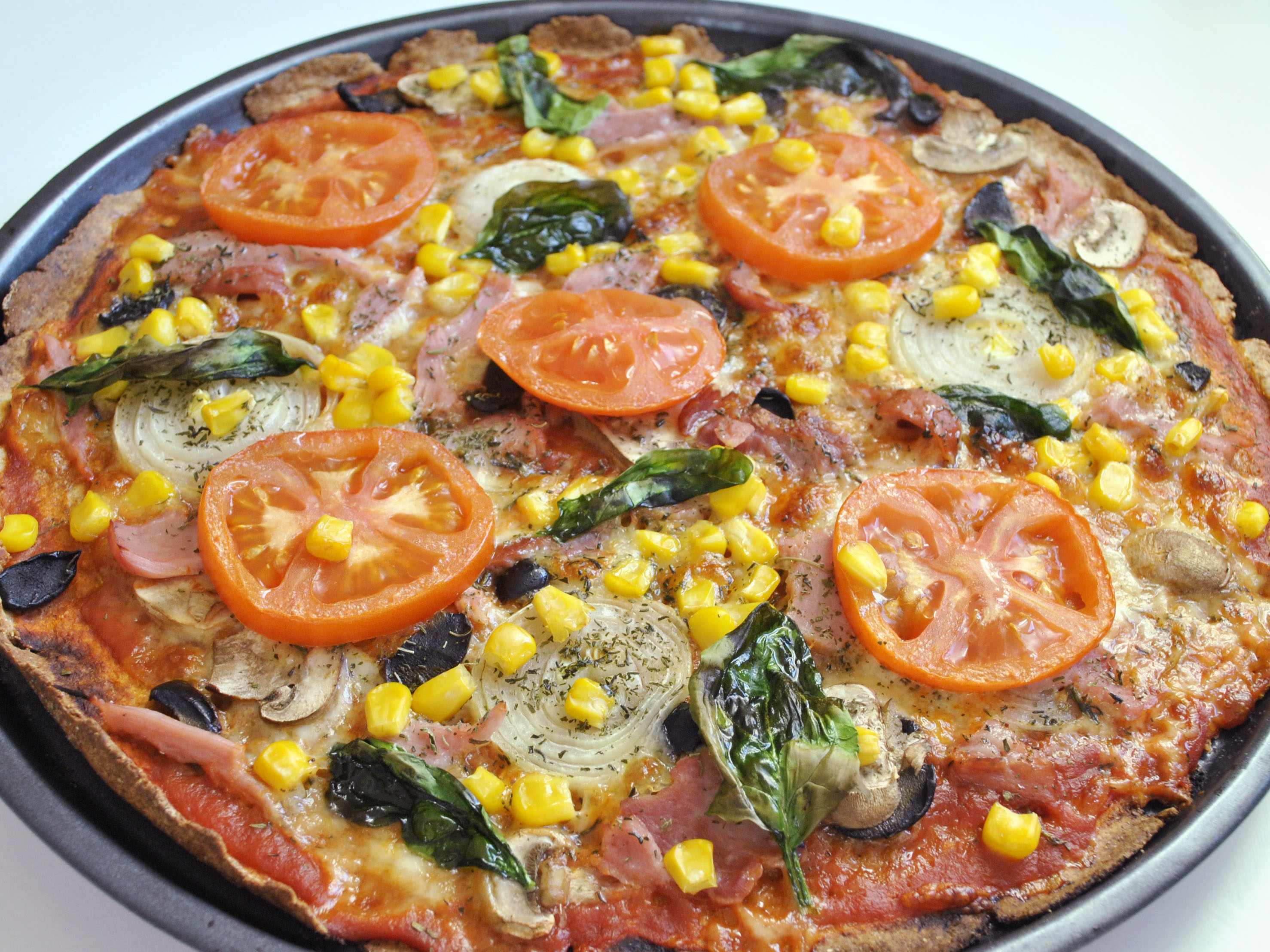 How To Make Easy Wholemeal Pizza 11 Steps With Pictures