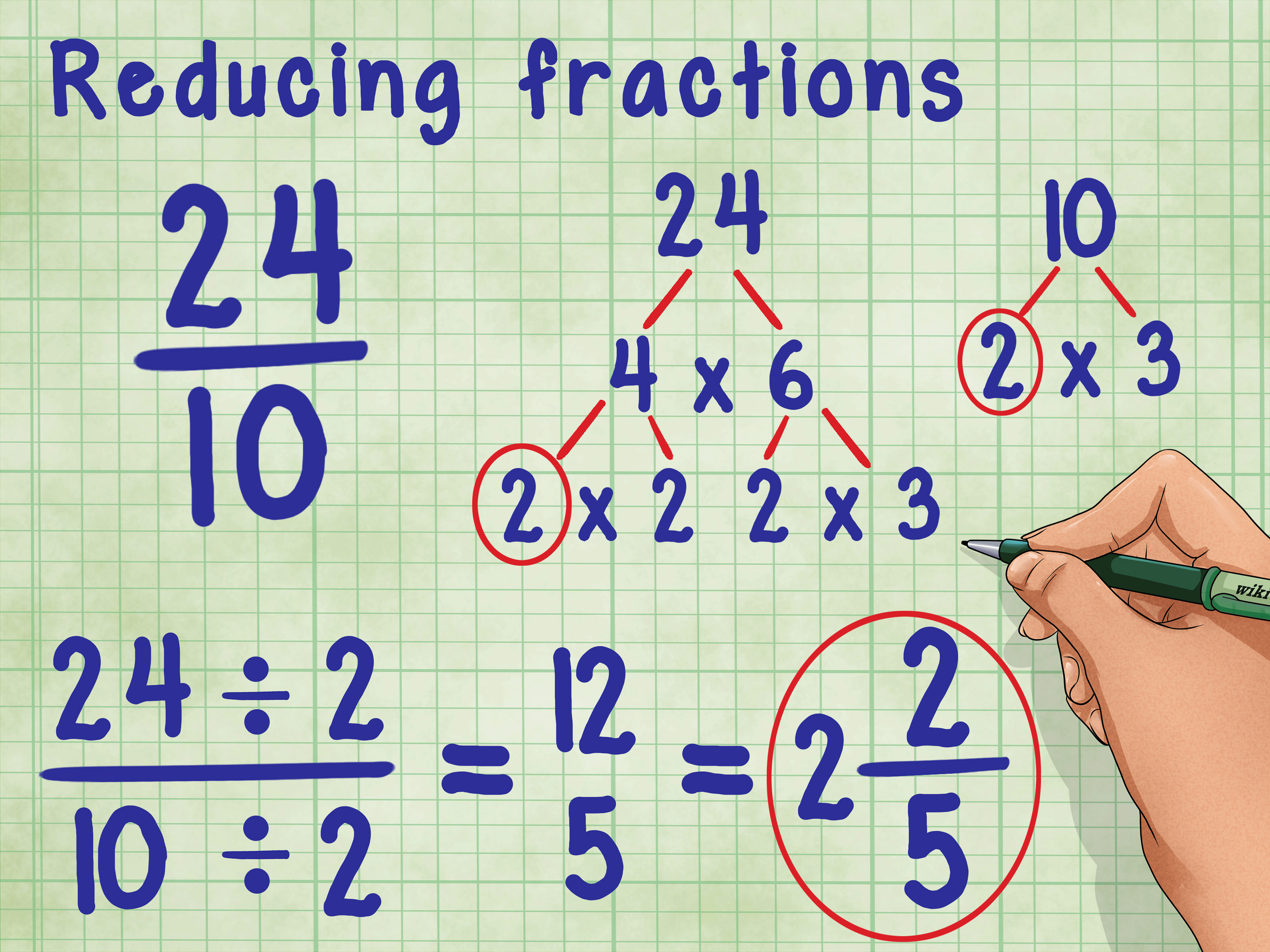 How To Divide Fractions By Fractions 12 Steps