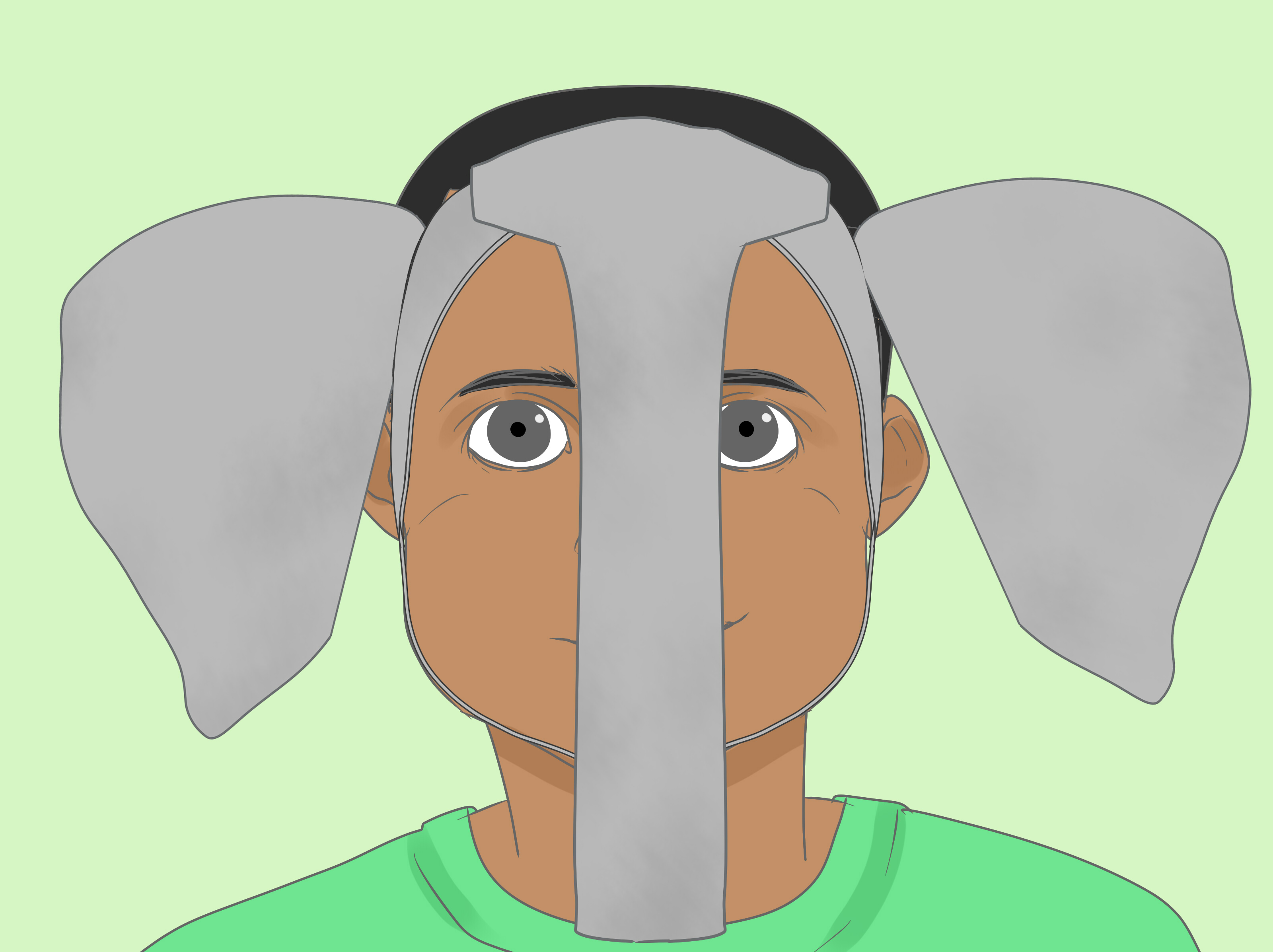 How To Make Elephant Ears For A Costume With Pictures