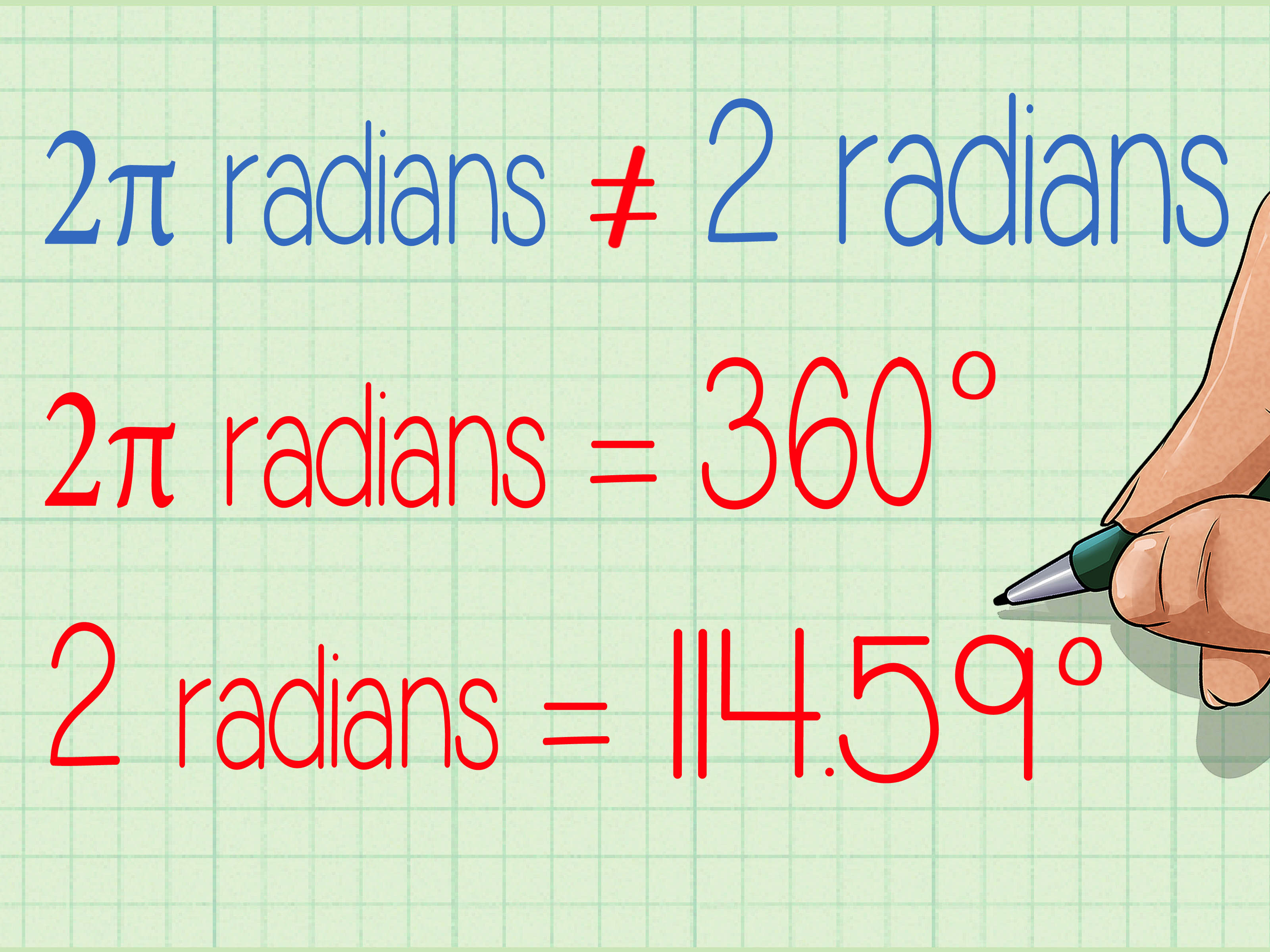 Degrees And Radians Conversion Practice Worksheet Answers