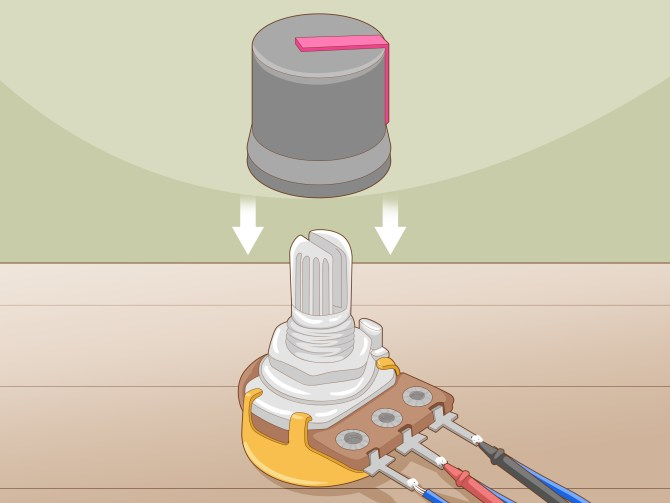 how to wire a potentiometer 10 steps with pictures  wikihow