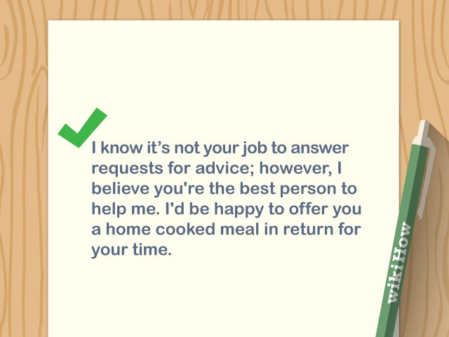 17 Ways to Write a Letter Asking for Advice - wikiHow
