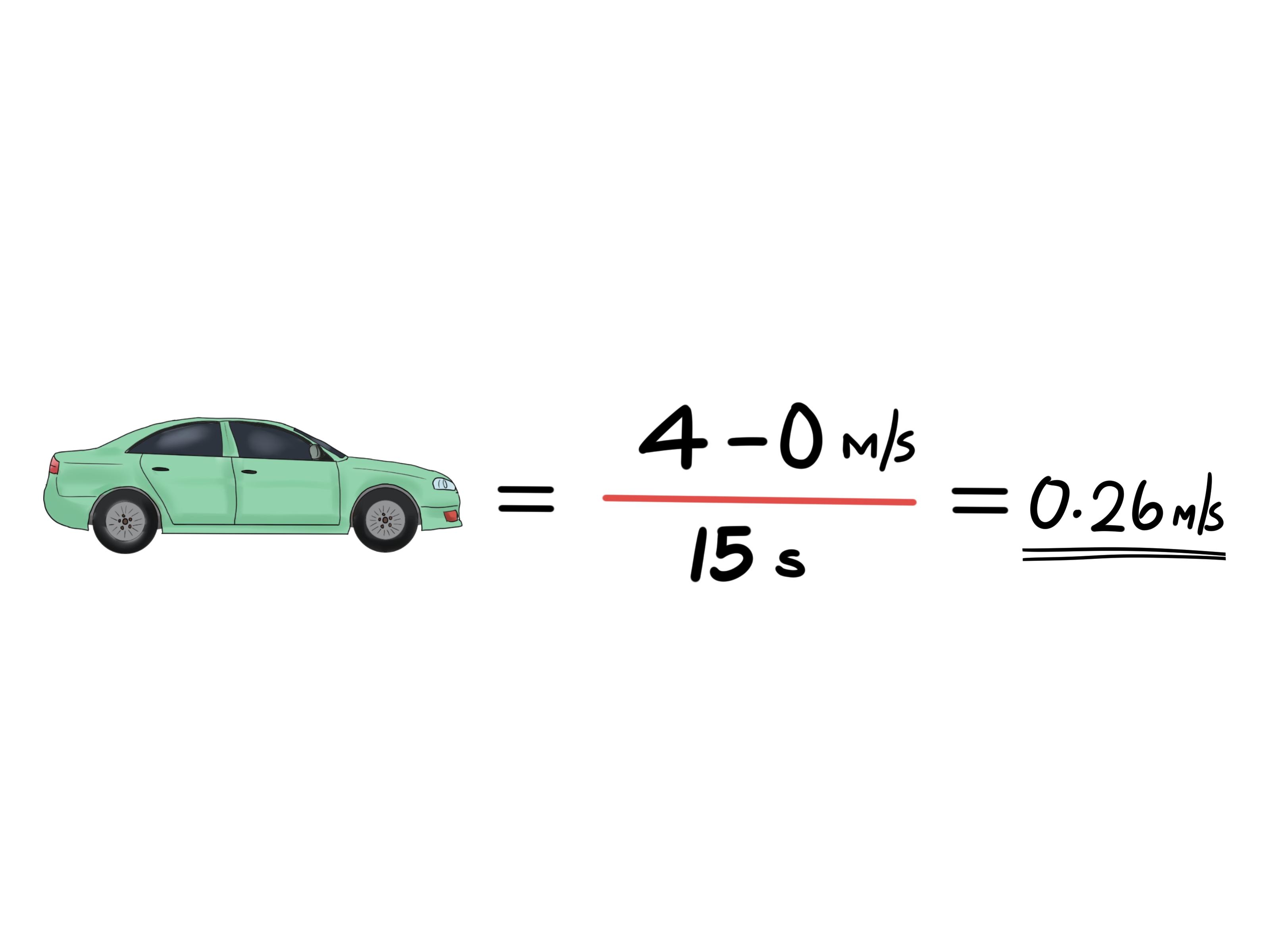 Find Average Acceleration Step 8 Images