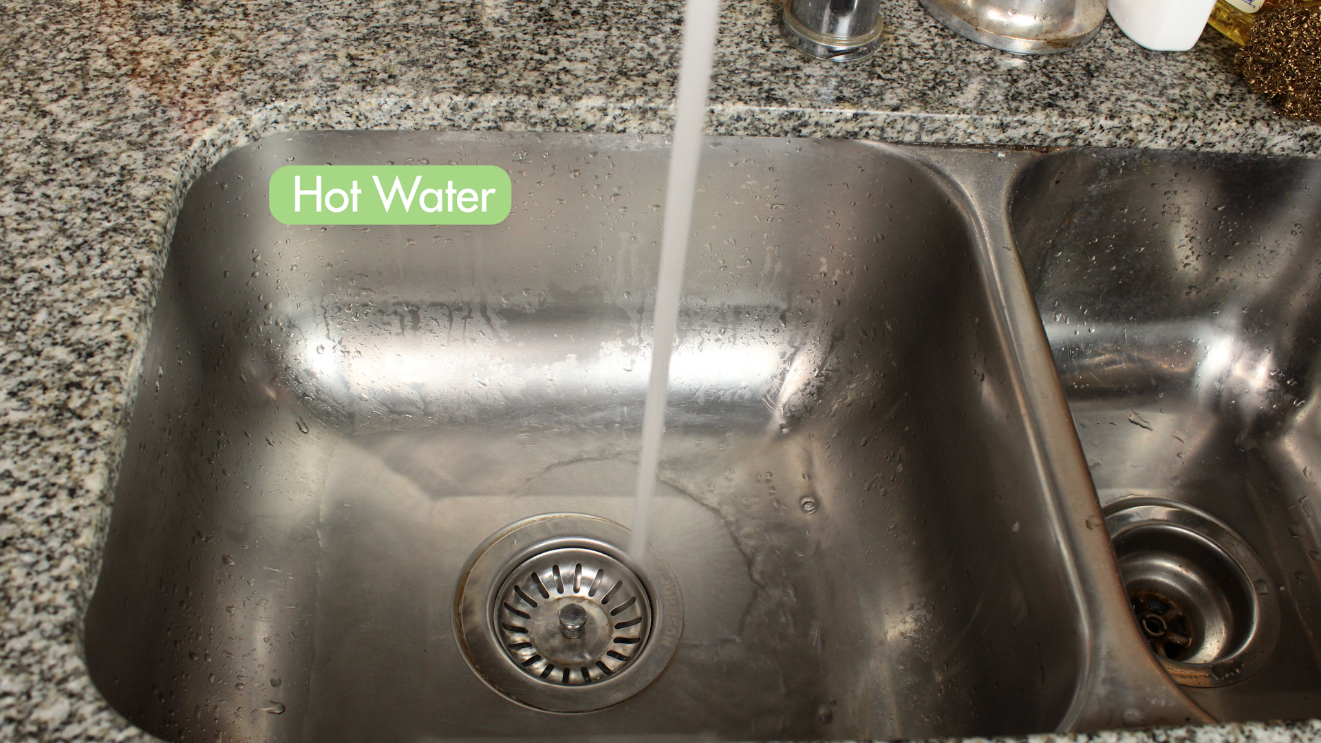 3 Ways To Clean A Kitchen Sink WikiHow