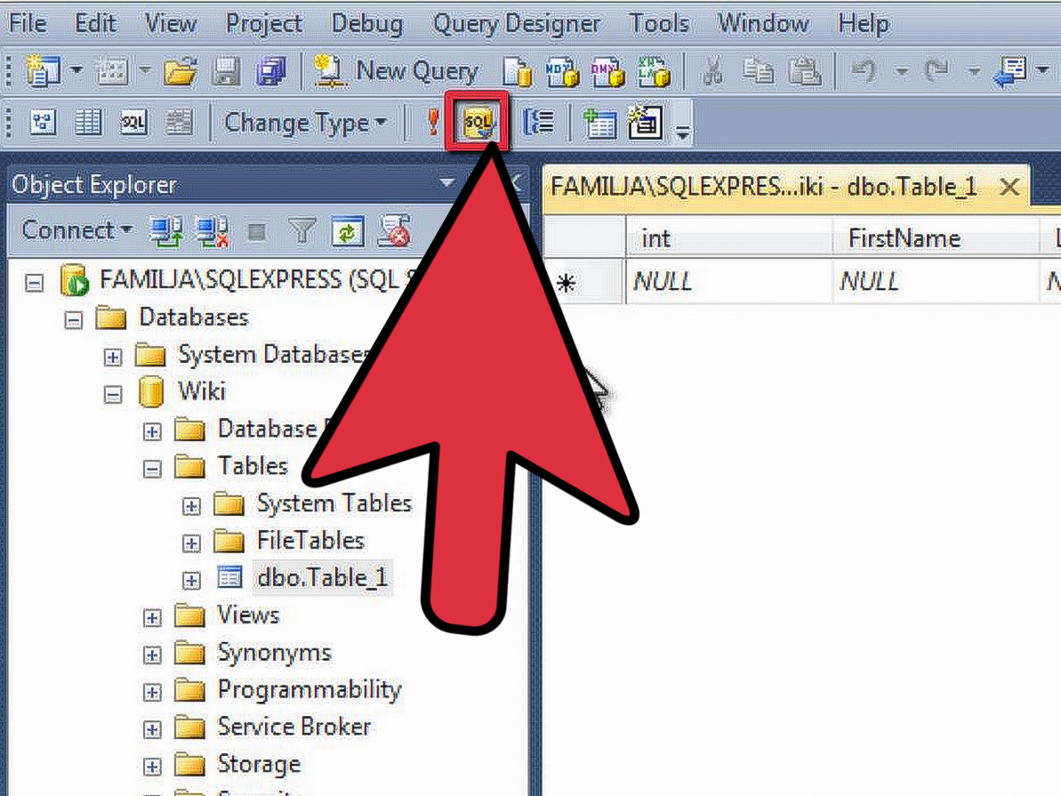 How To Create A Sql Server Database 12 Steps With Pictures