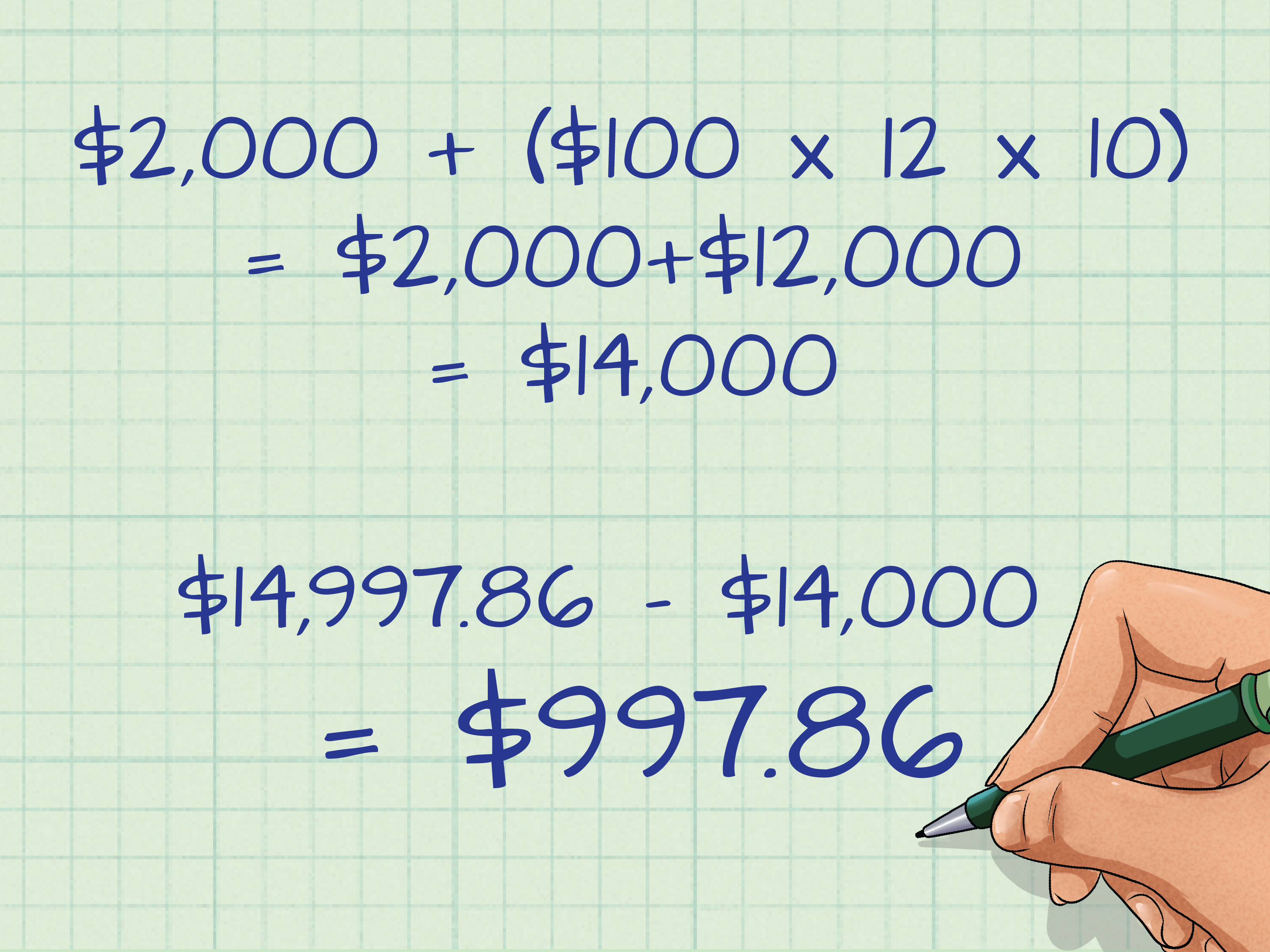 How To Work Out Compound Interest On Savings 14 Steps