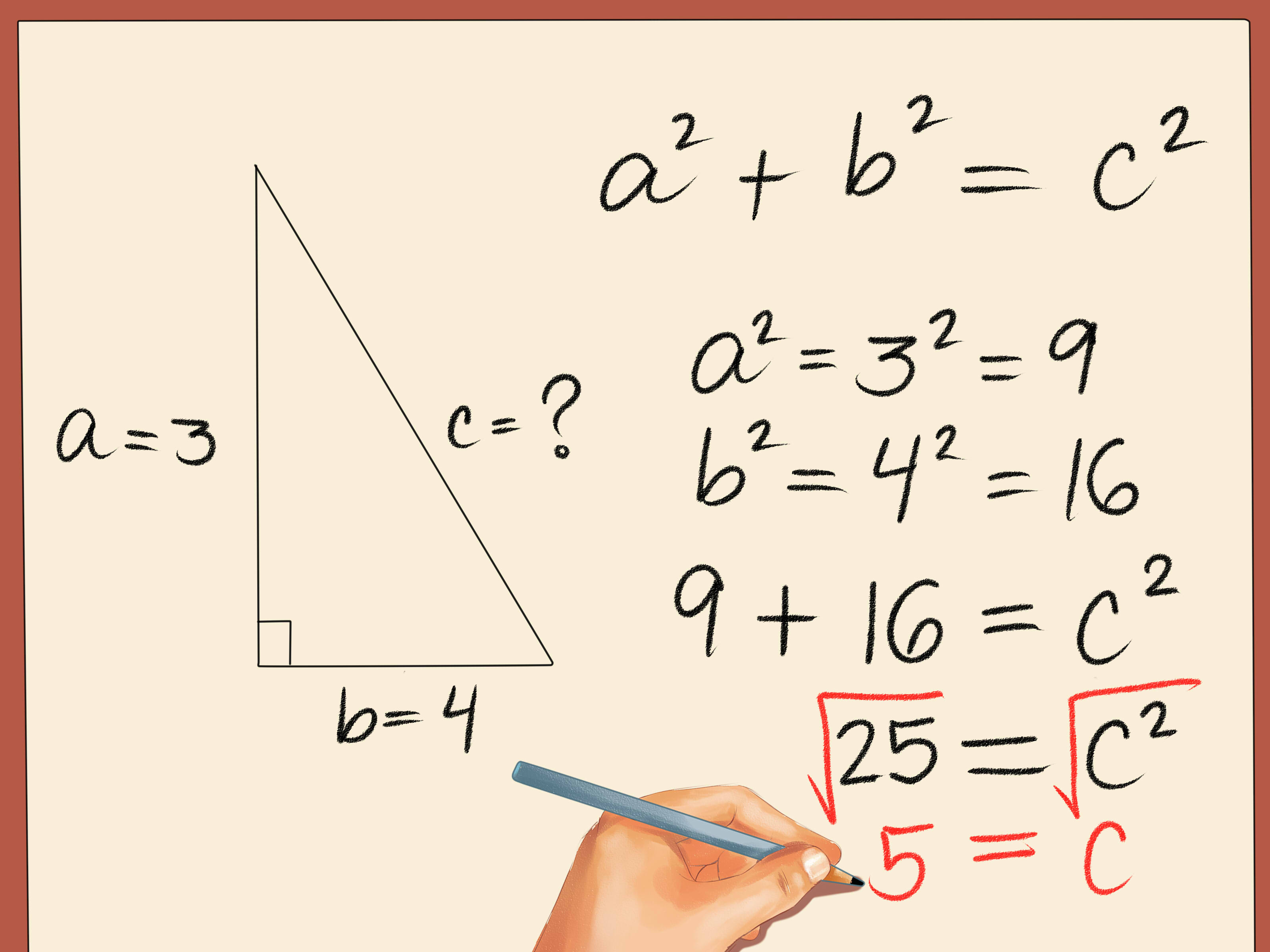 3 Easy Ways To Find The Length Of The Hypotenuse