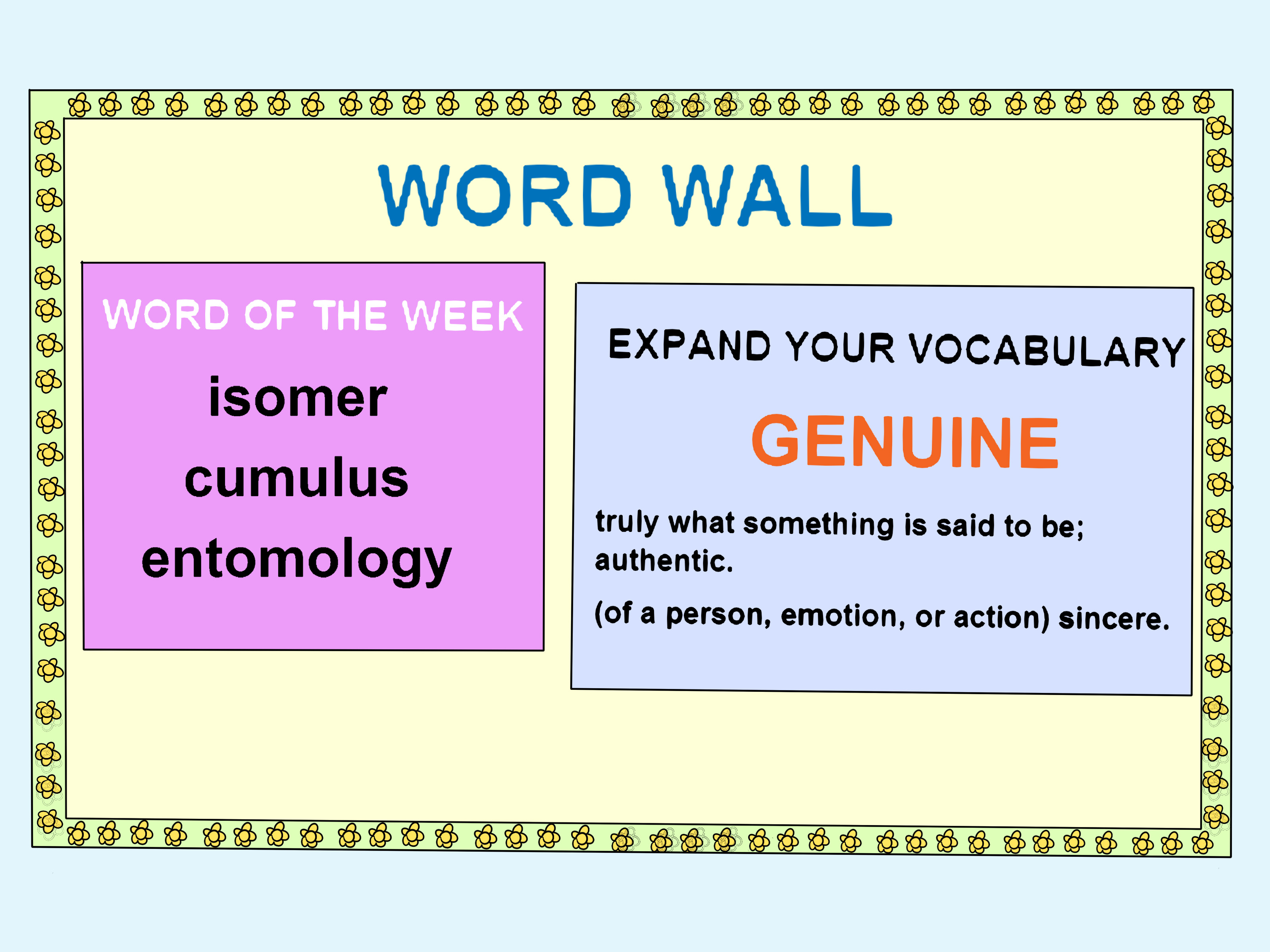 How To Teach Vocabulary Words With Pictures