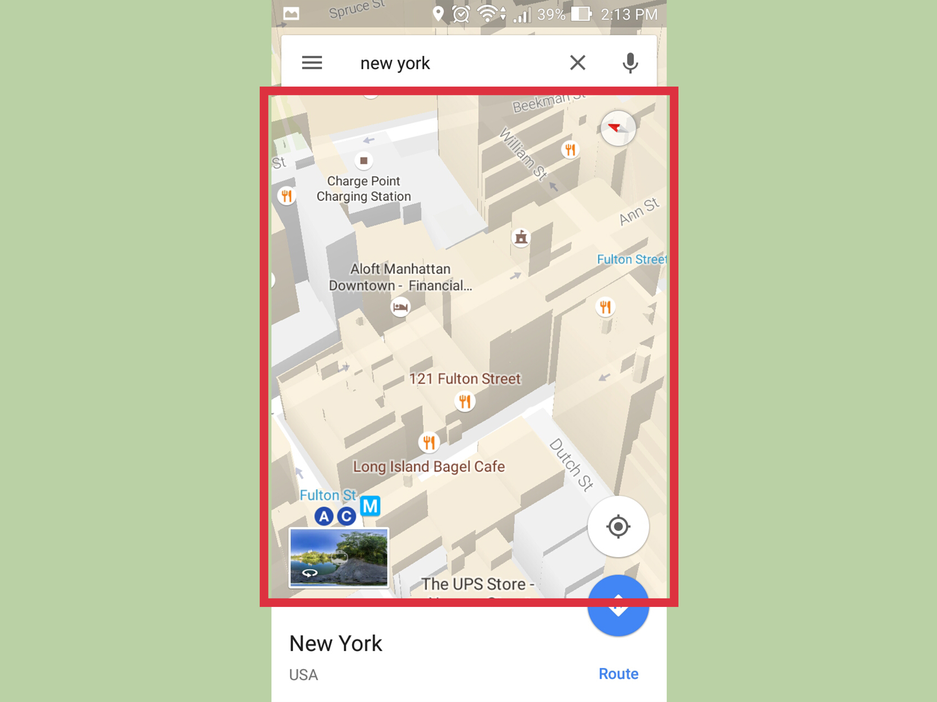 How to Make Google Maps 3D on Android  4 Steps  with Pictures