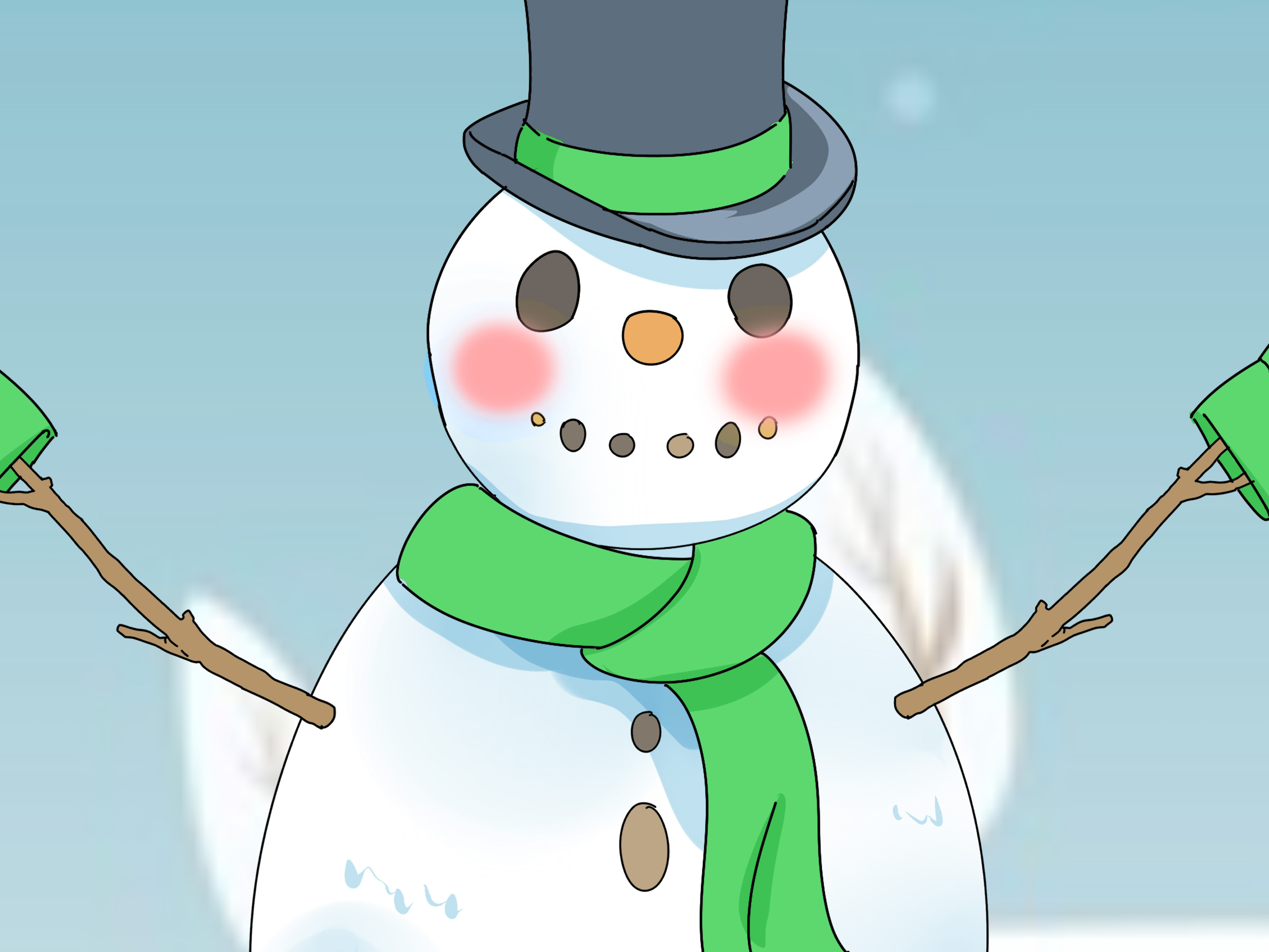 How To Decorate A Snowman 8 Steps With Pictures