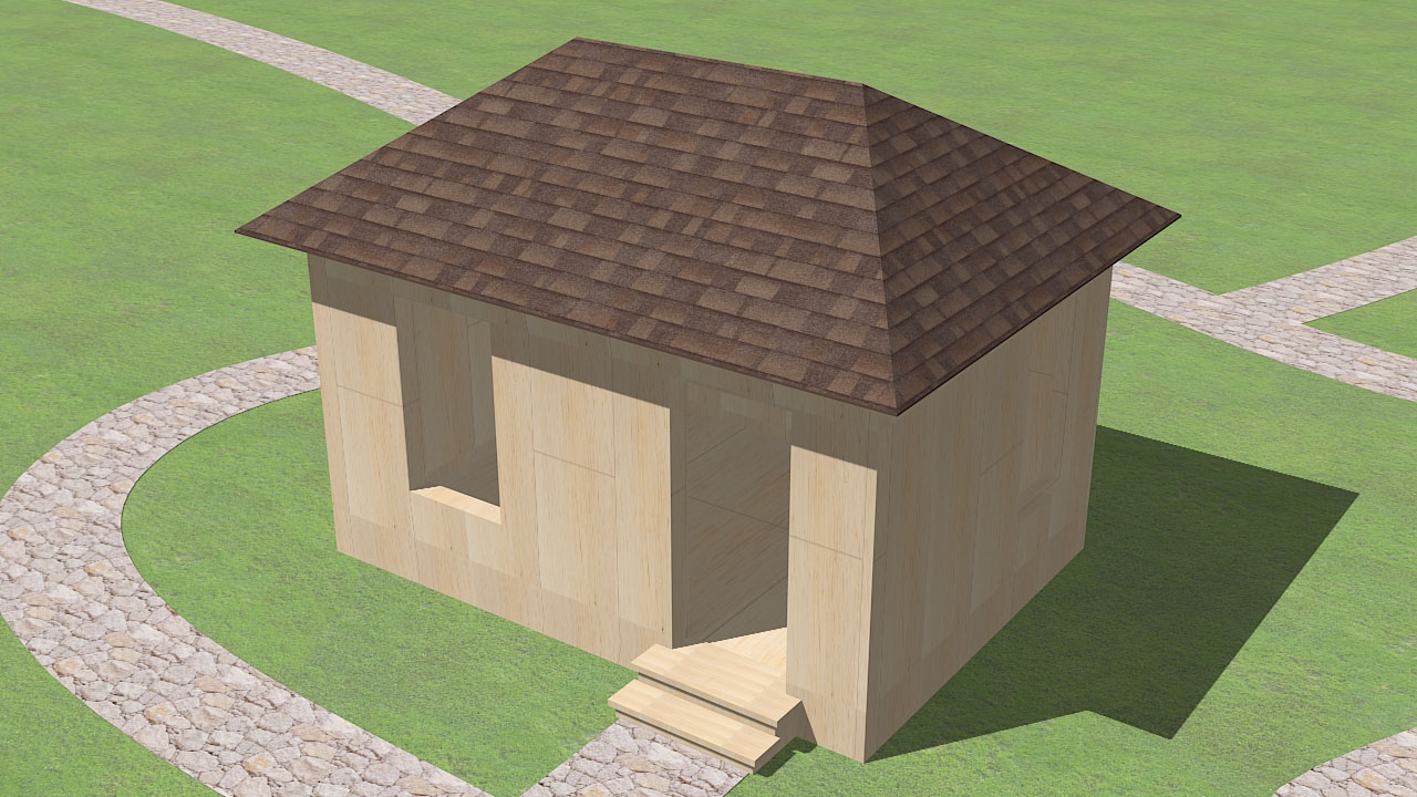 Design Your Own Garden Shed Plans