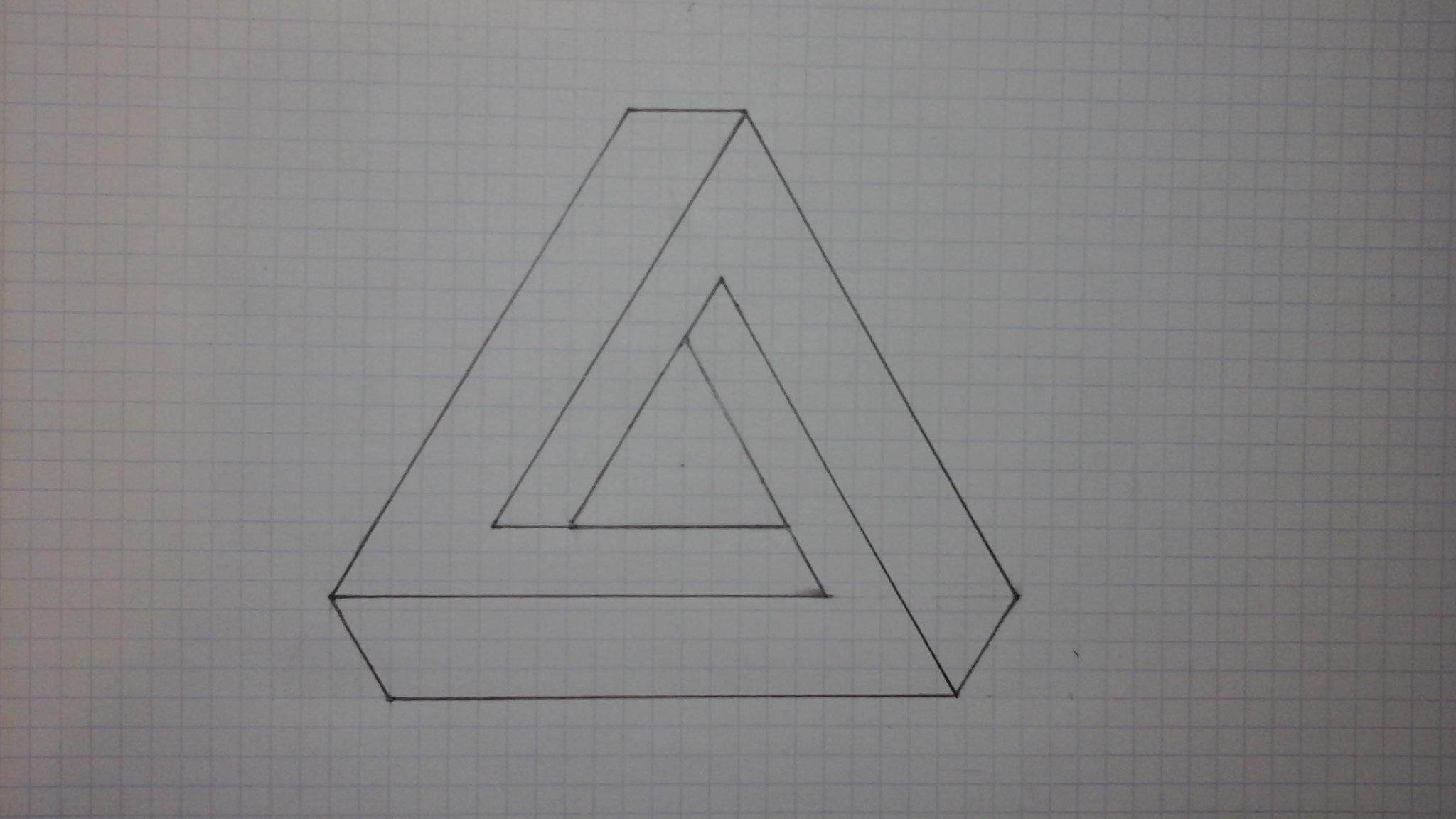 3 Ways To Draw An Impossible Triangle