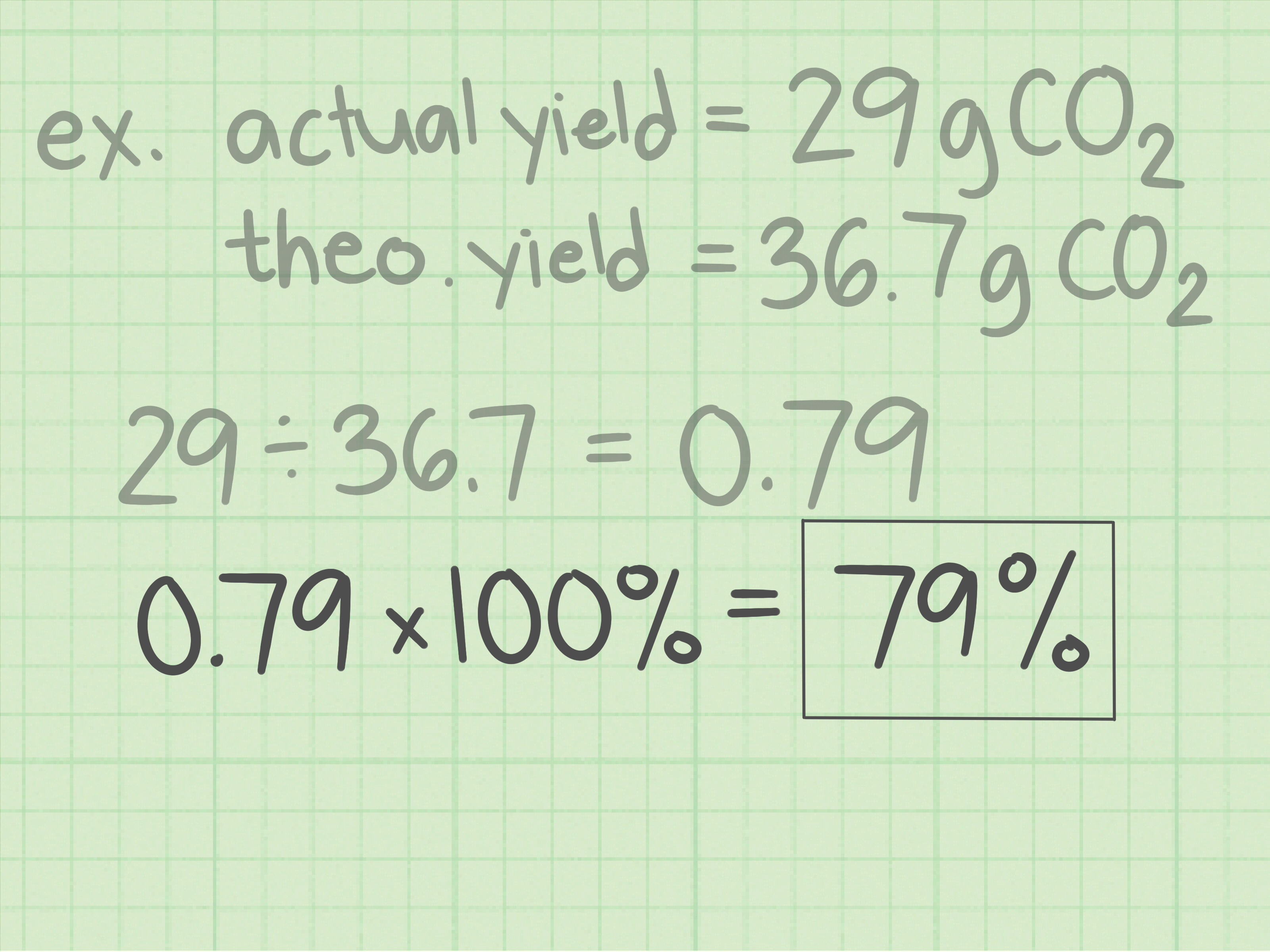 How To Calculate Percent Yield In Chemistry 15 Steps