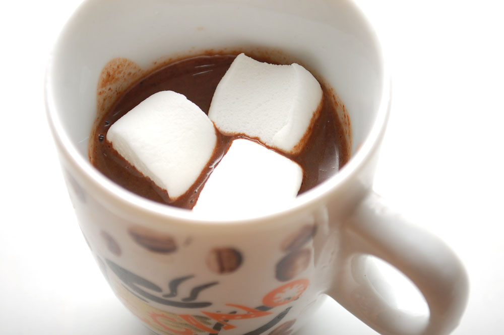 make hot chocolate in the microwave