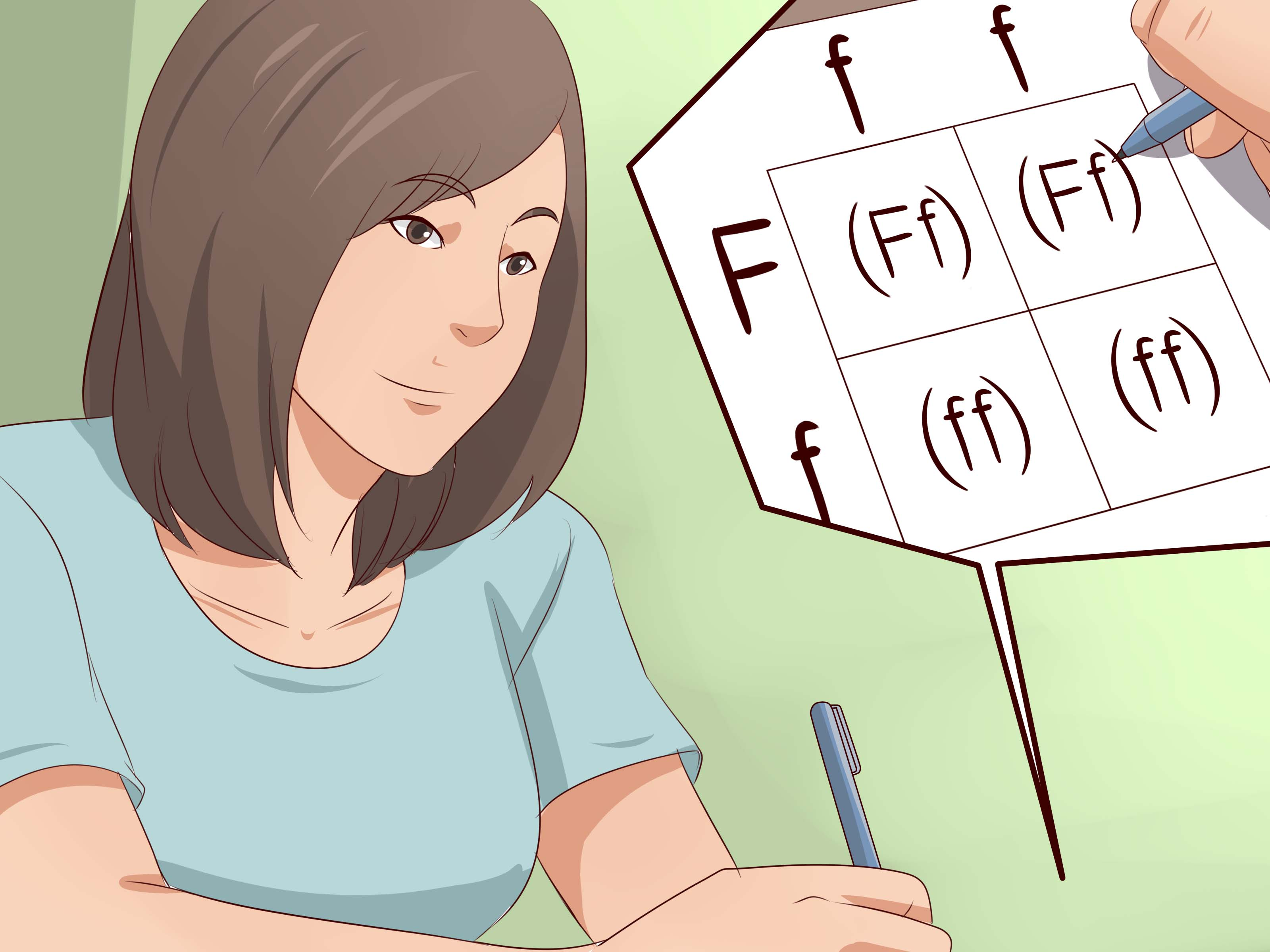 How To Make A Punnett Square 13 Steps With Pictures