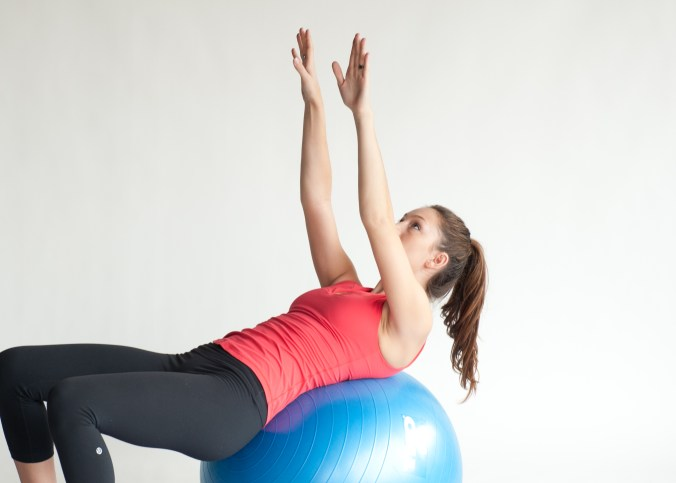 3 Ways To Do A Flye To Pullover Exercise With An Exercise Ball