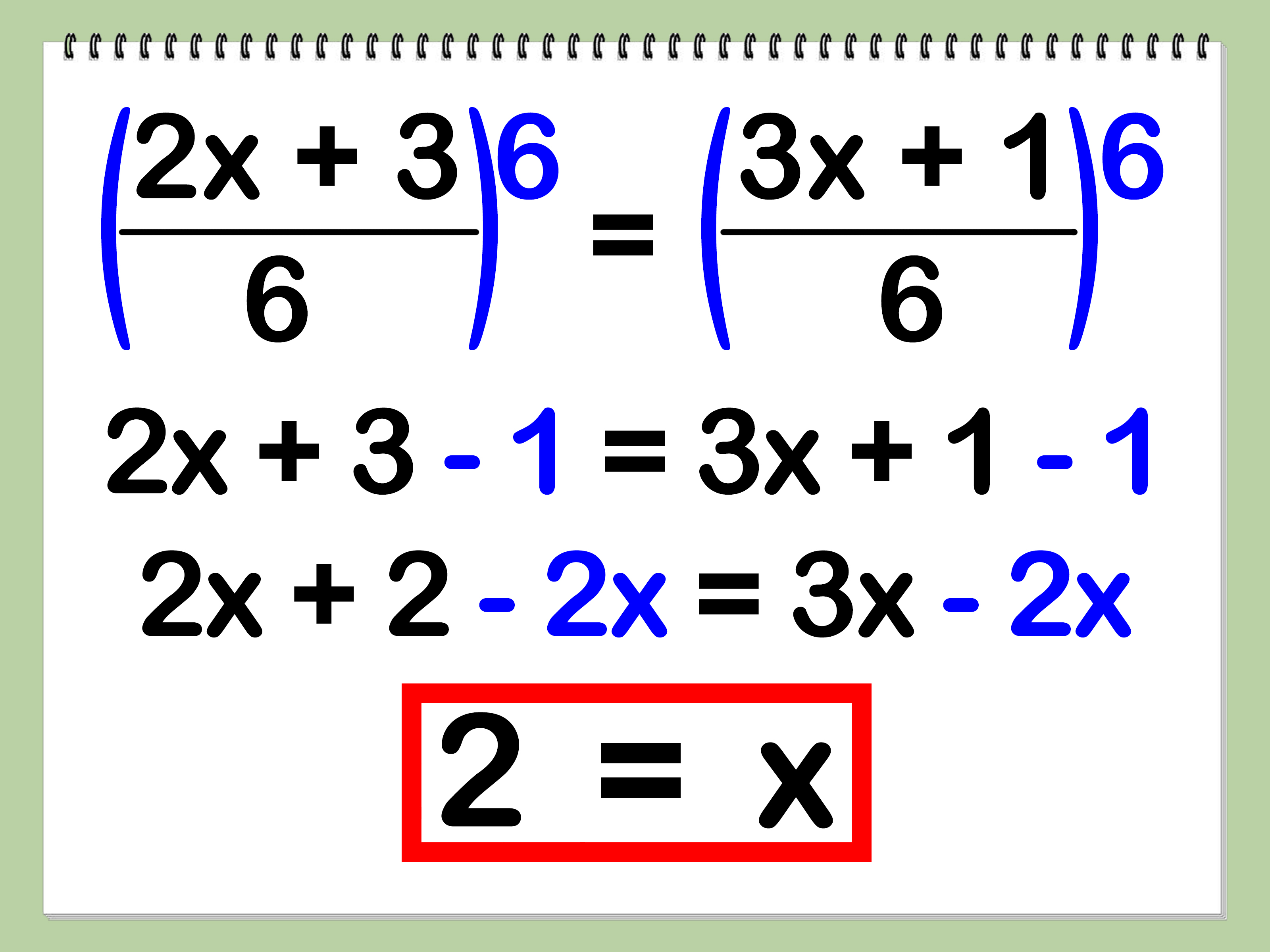 How To Solve Rational Equations 8 Steps With Pictures