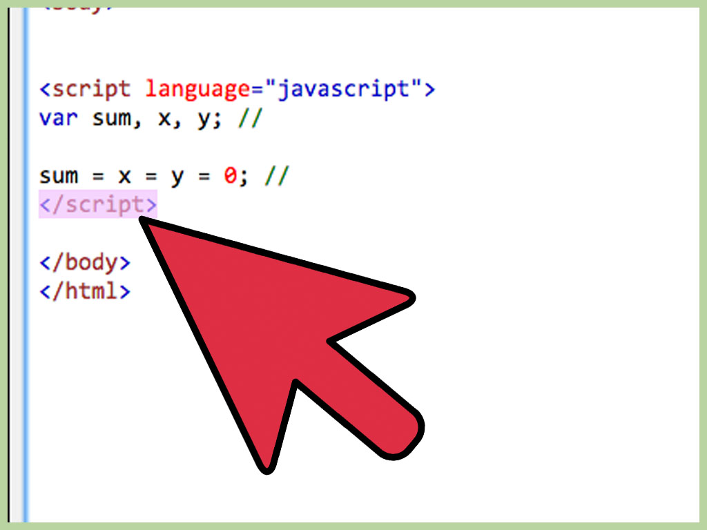 How To Declare A Variable In Javascript With Pictures