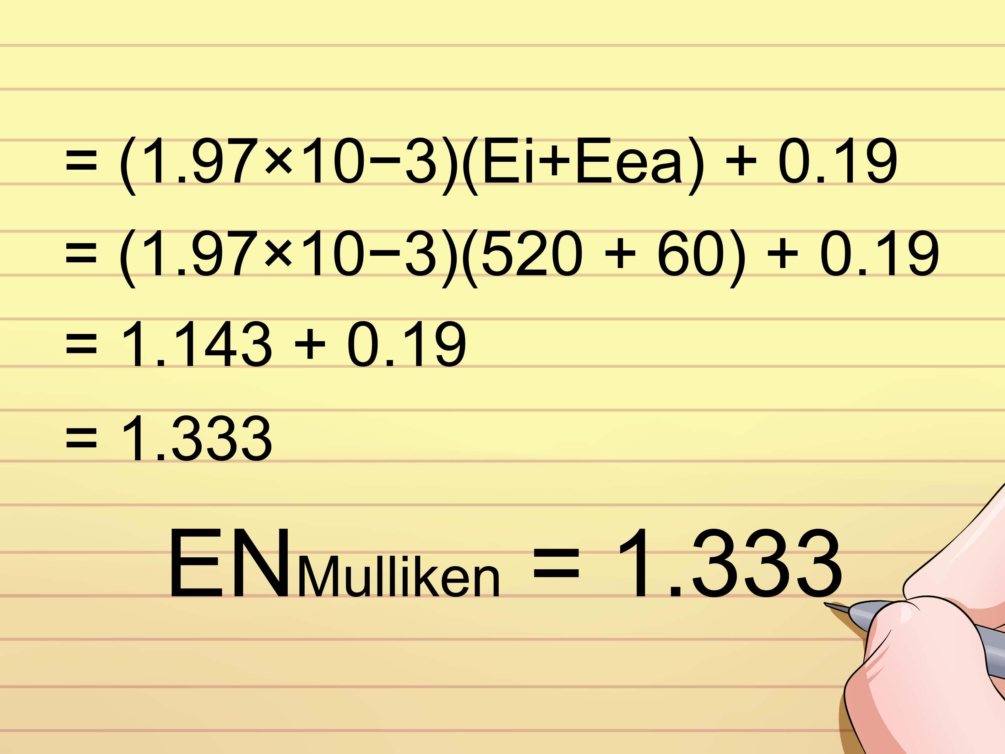 3 Formas De Calcular La Electronegatividad