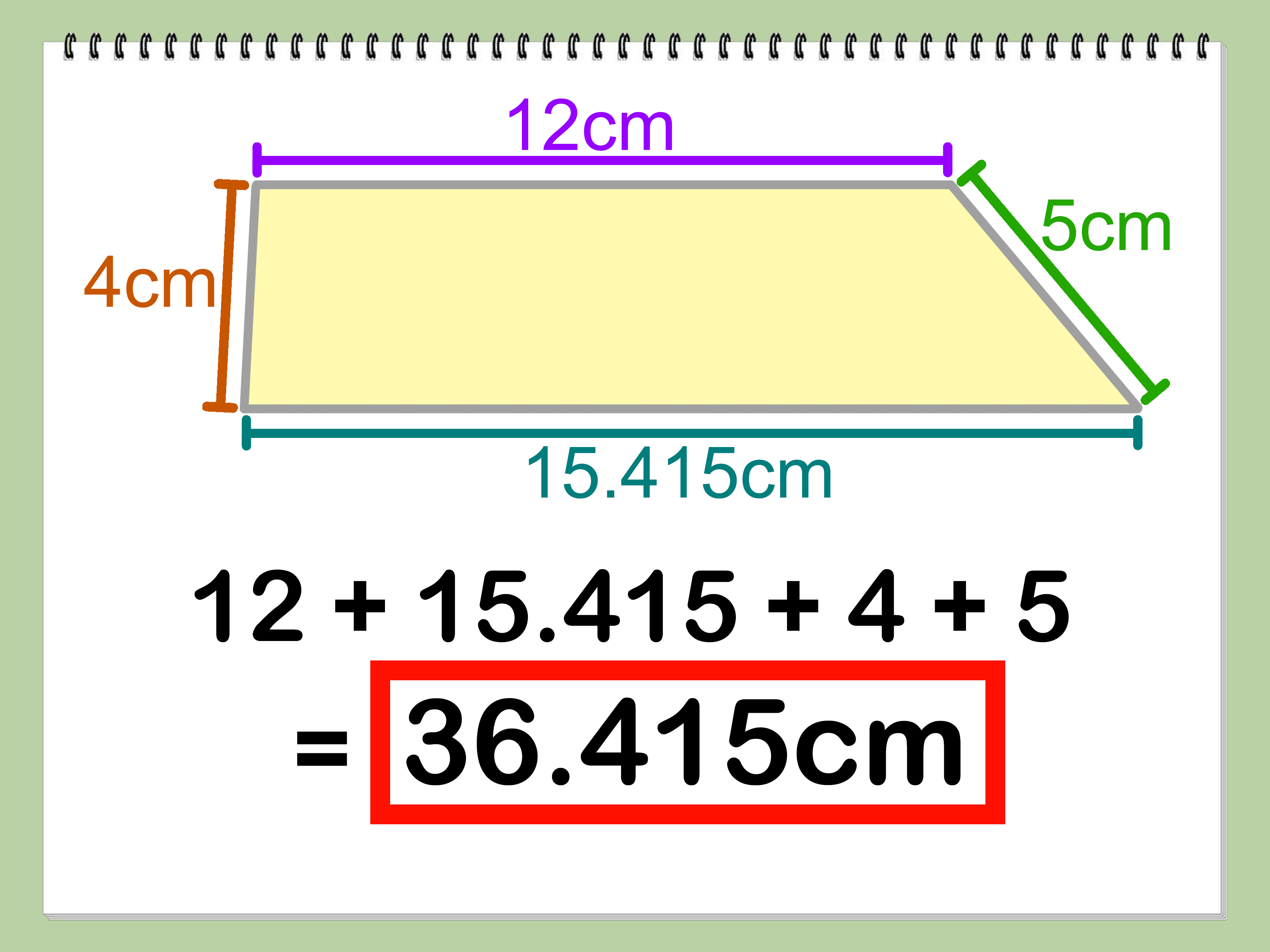 3 Ways To Find The Perimeter Of A T Zoid