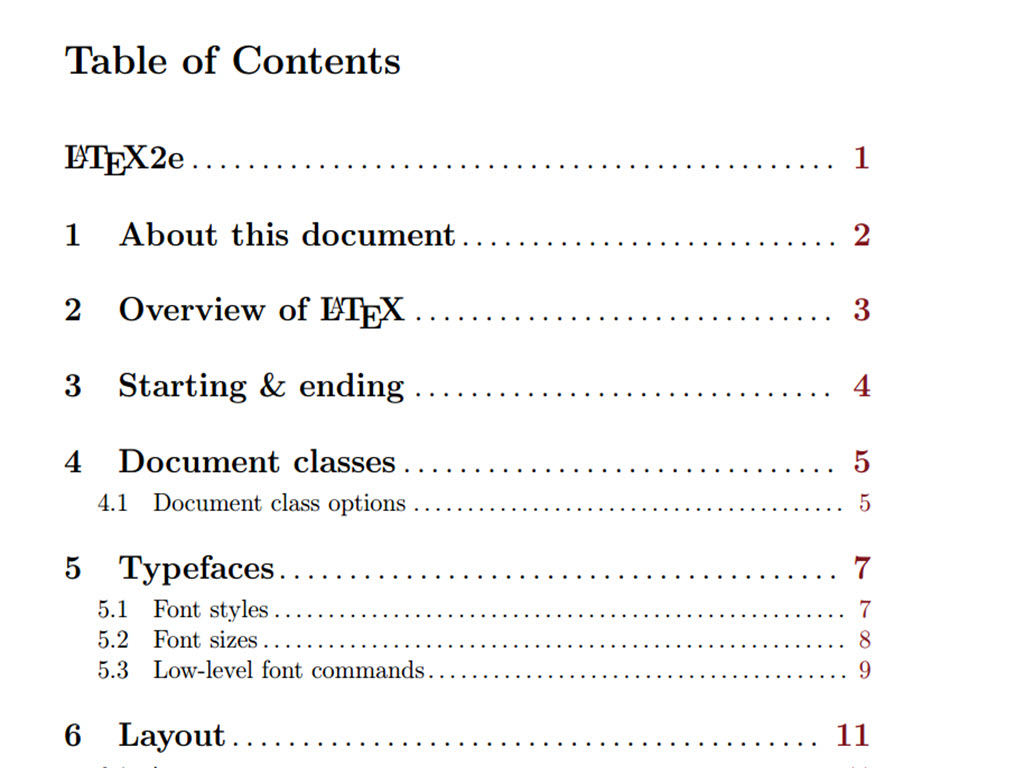 Latex apa document class