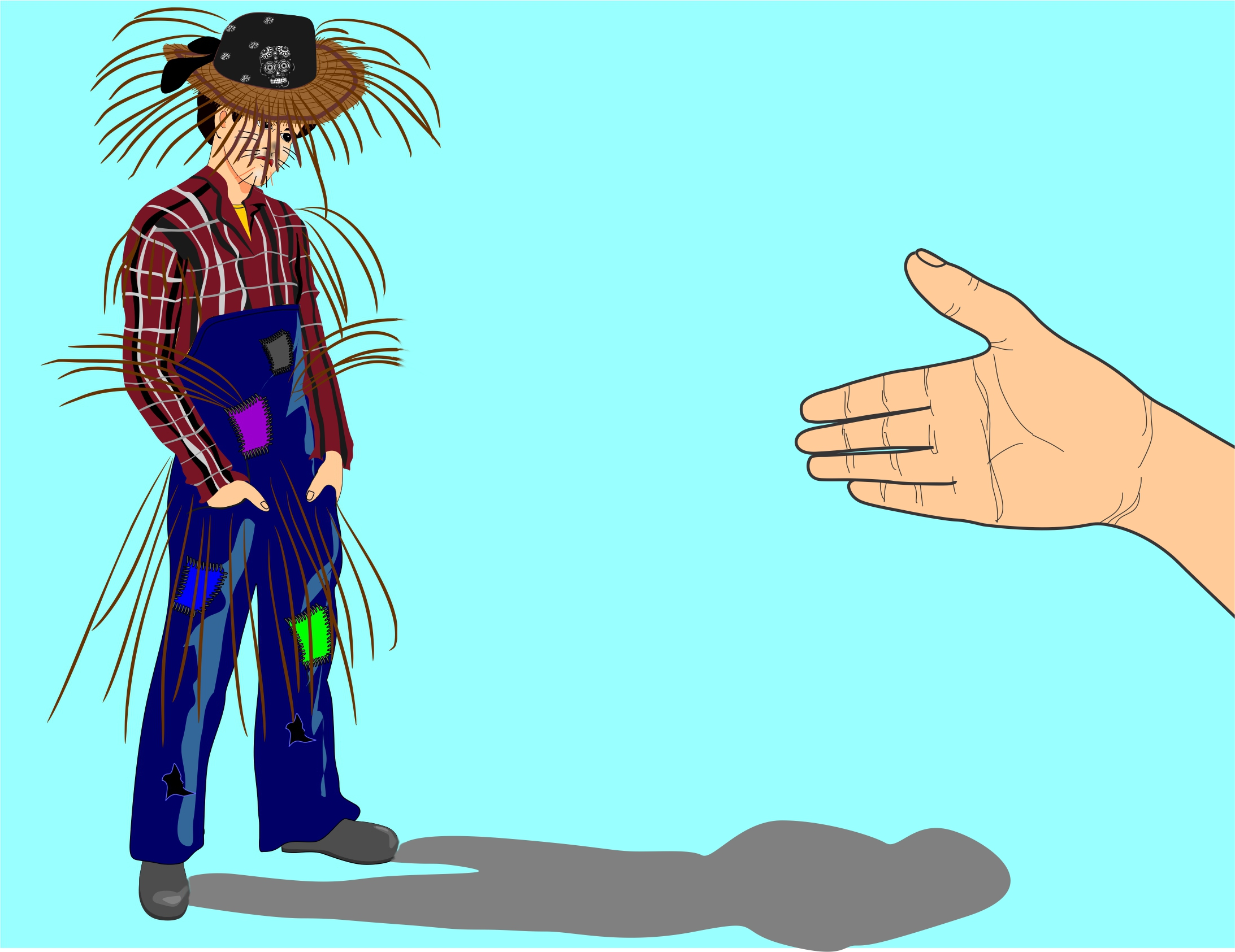 How To Be A Scarecrow For Halloween 9 Steps With Pictures