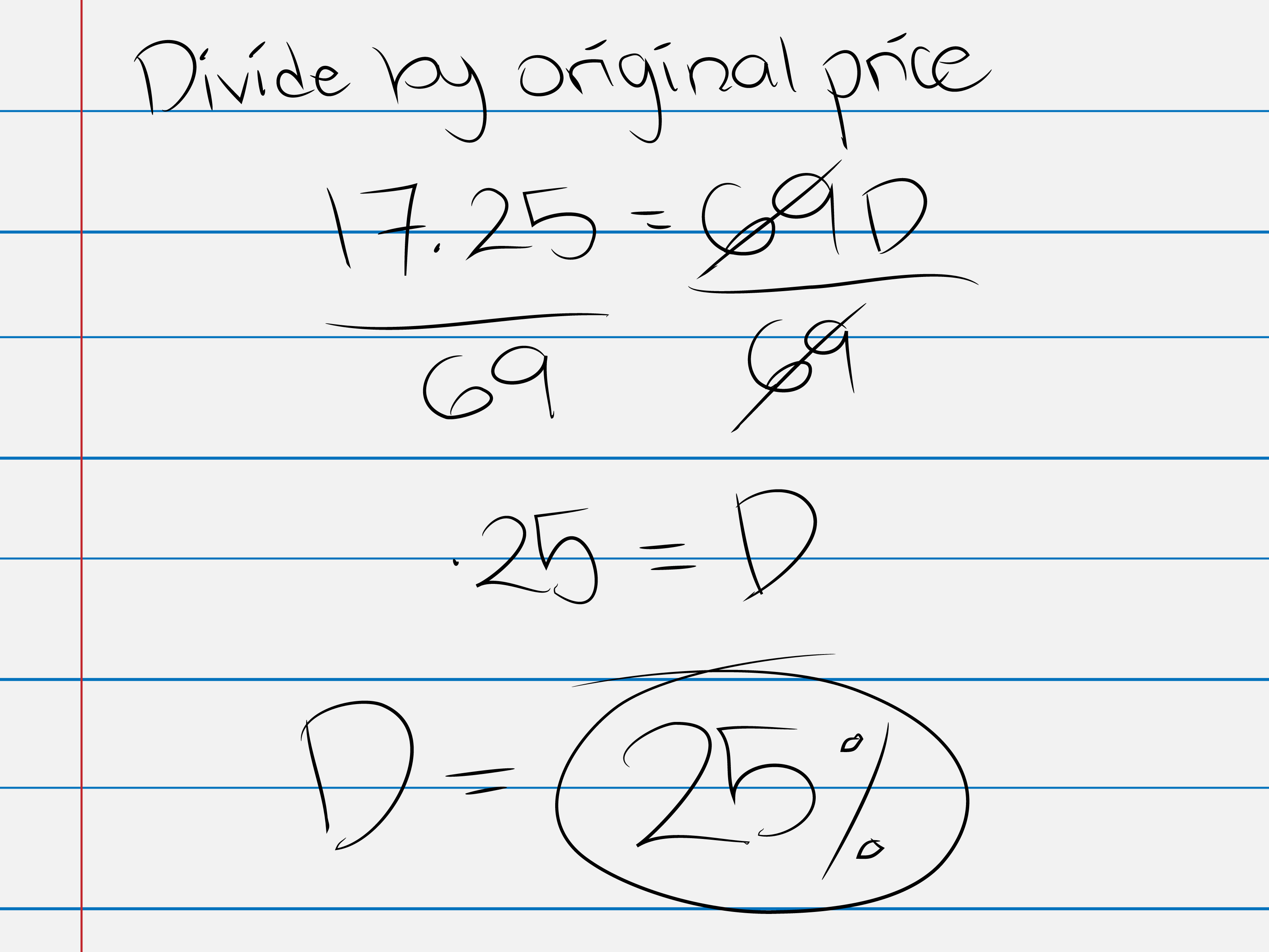3 Ways To Calculate The List Price Of An Item On Sale