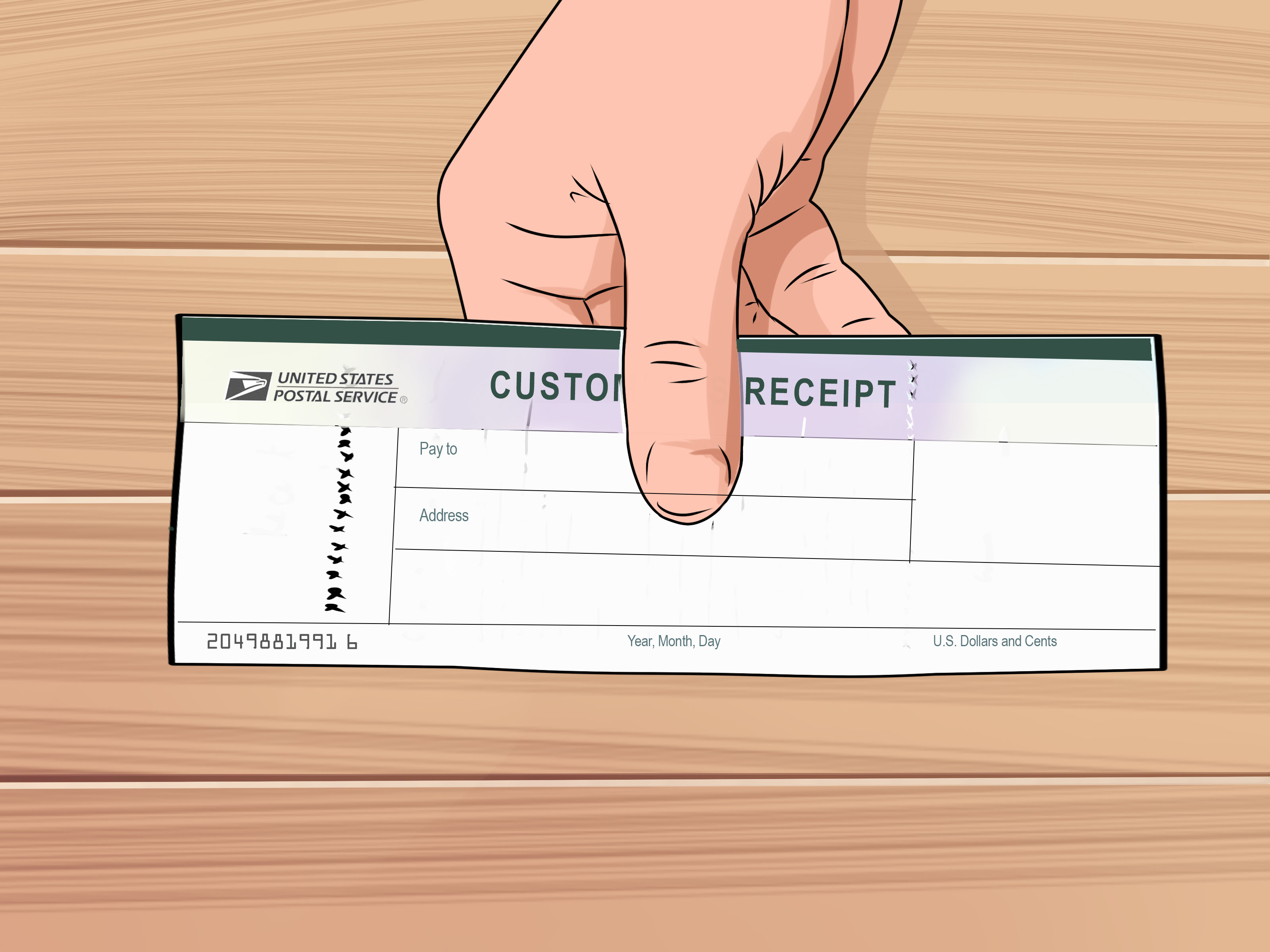 How To Fill Out A Money Order 8 Steps With Pictures Wikihow