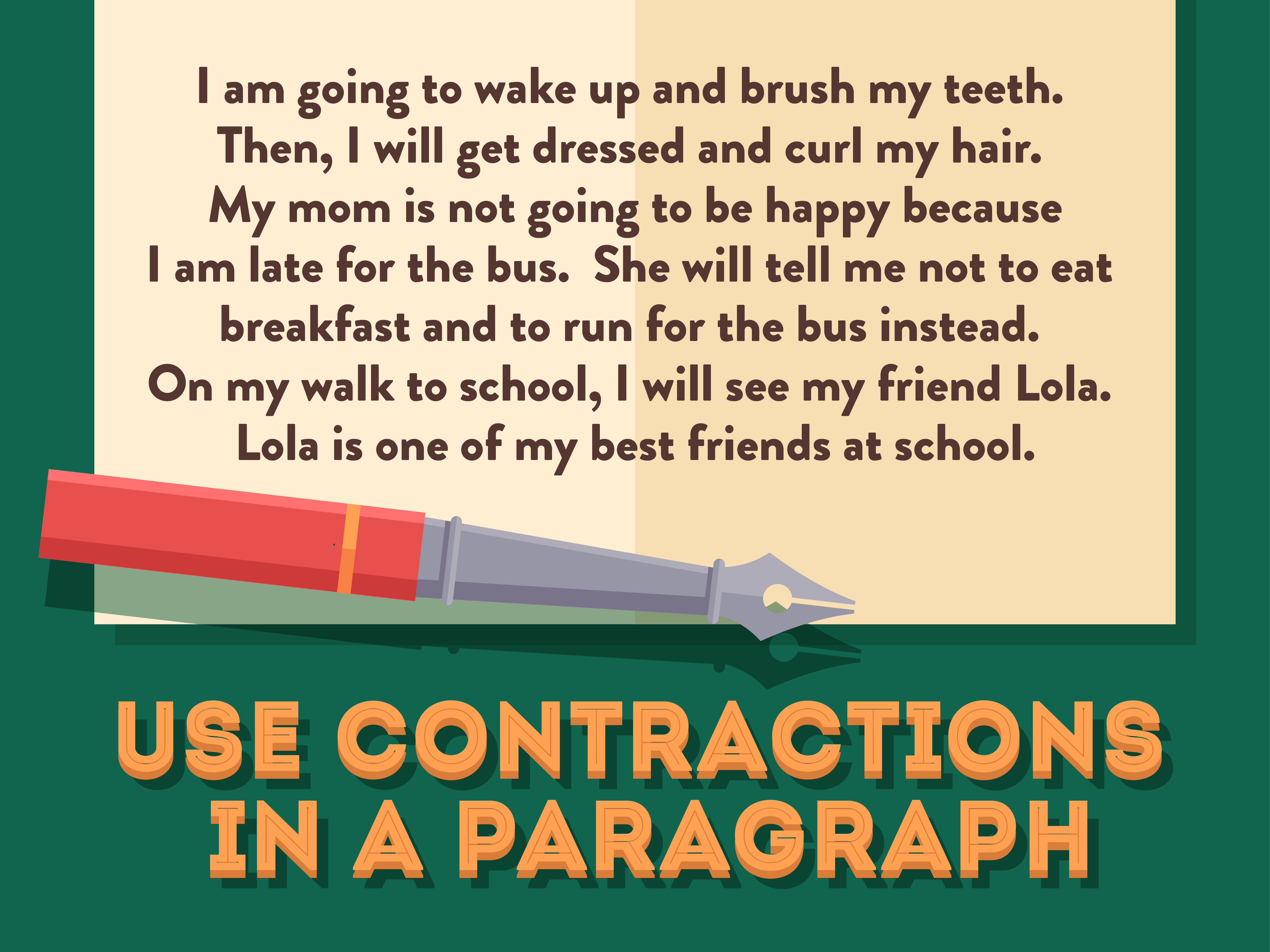 How To Use Contractions 12 Steps With Pictures