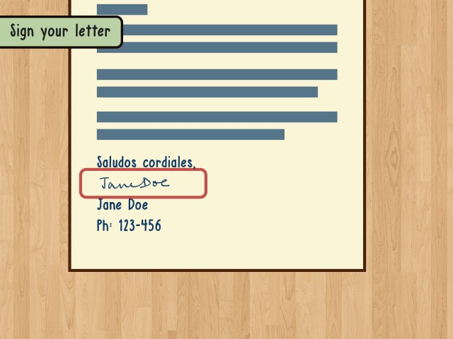 How to Write a Spanish Letter: 27 Steps (with Pictures) - wikiHow