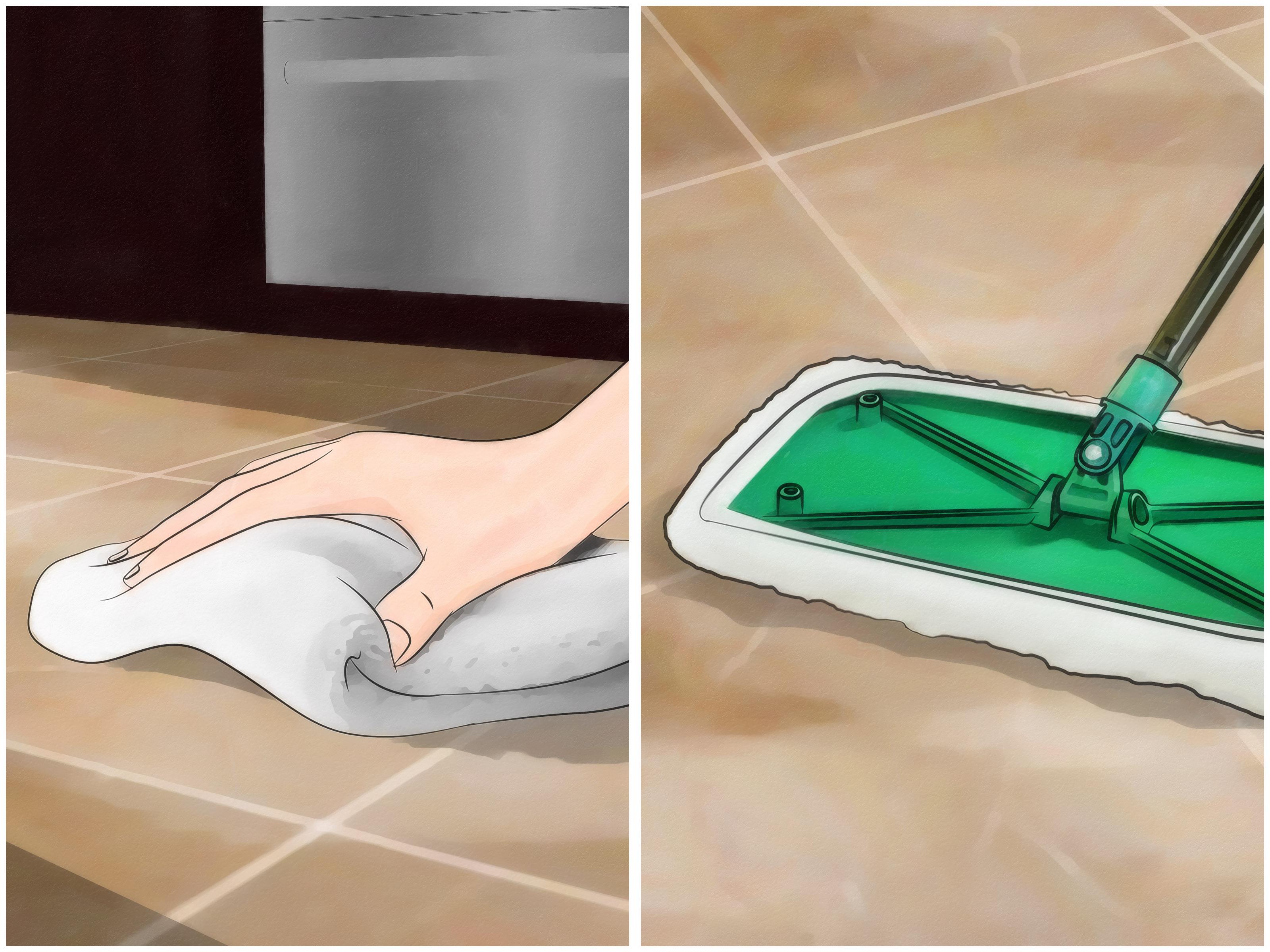 4 Ways To Clean Grout Between Floor Tiles