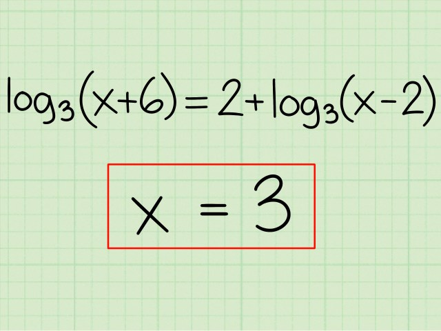 19 Ways to Solve Logarithms - wikiHow