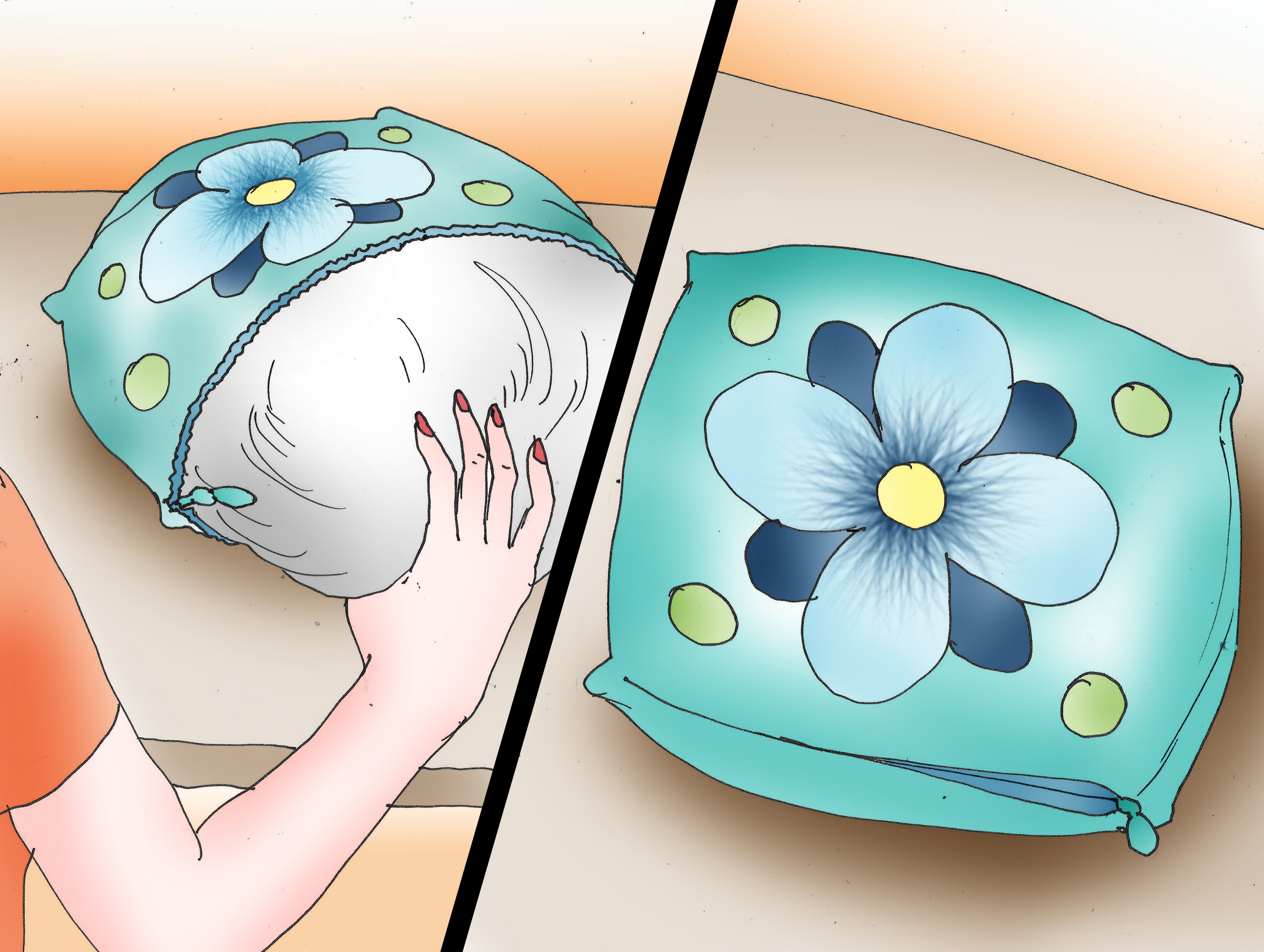 3 ways to make a throw pillow wikihow