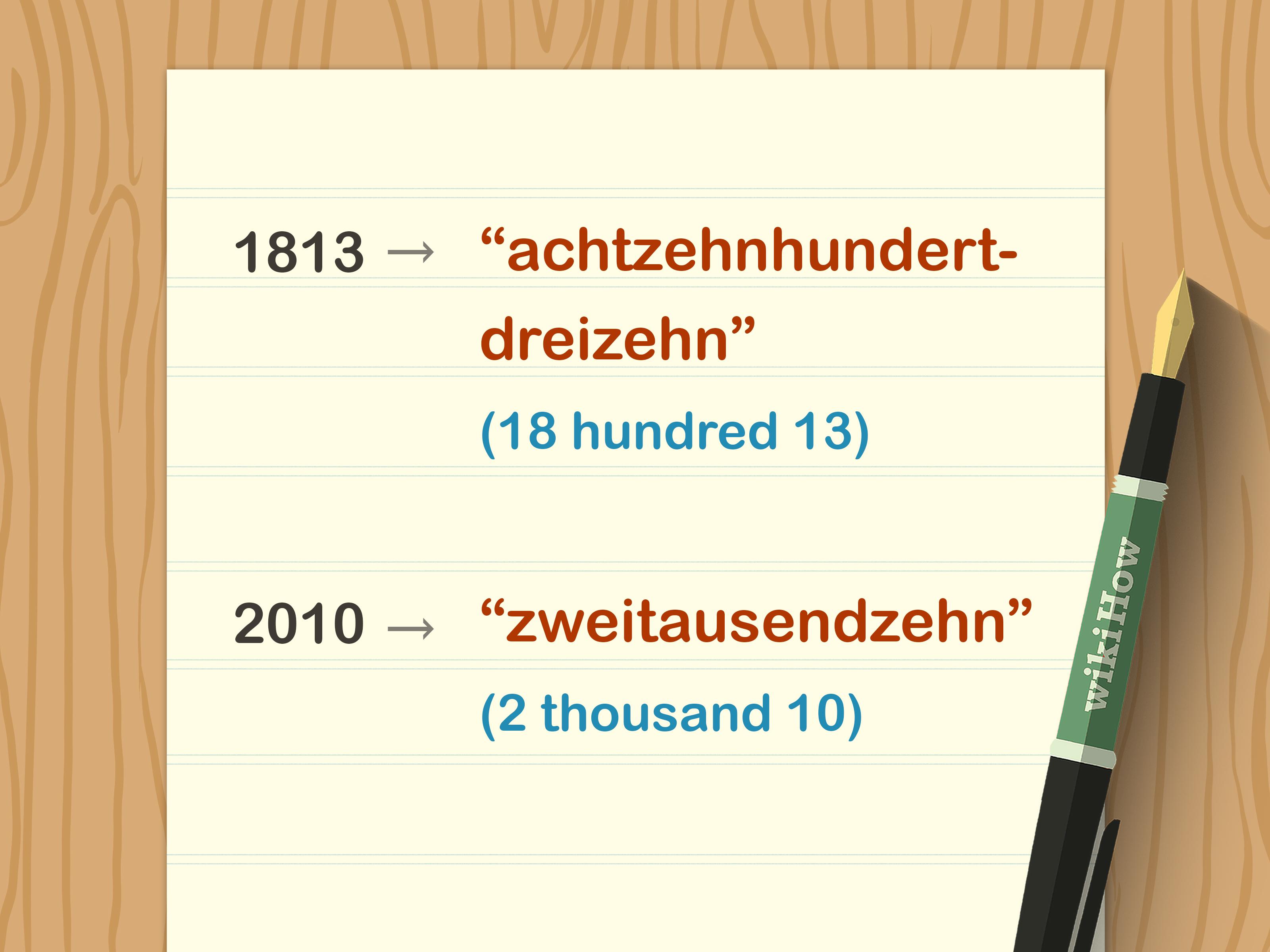 3 ways to write german dates wikihow