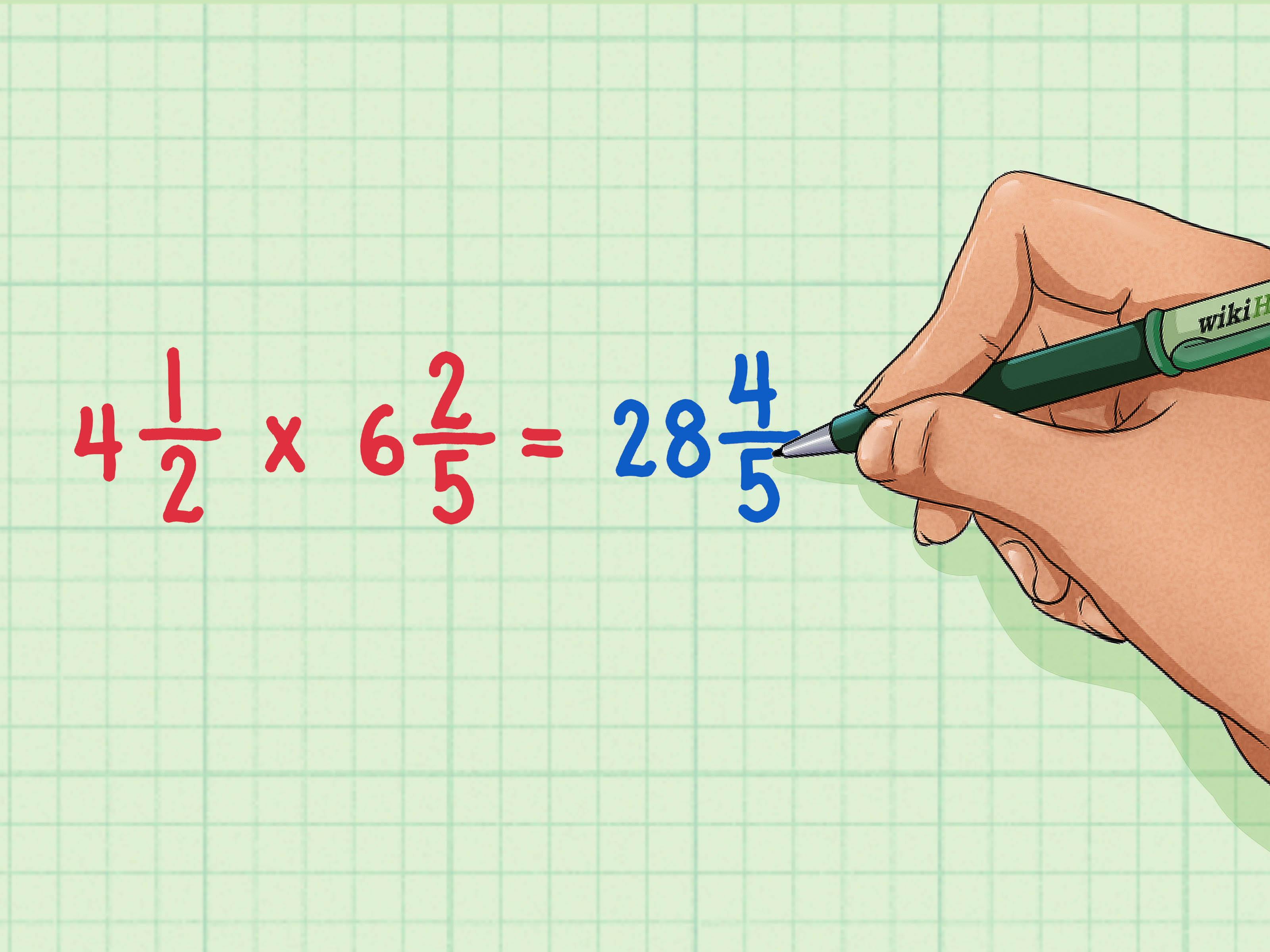How To Multiply Mixed Numbers 7 Steps With Pictures