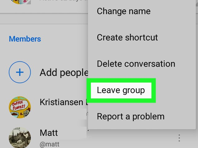 How to Leave a Group Chat on Facebook Messenger on Android