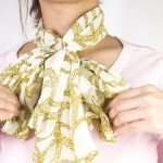 How To Tie A Silk Scarf With Pictures Wikihow