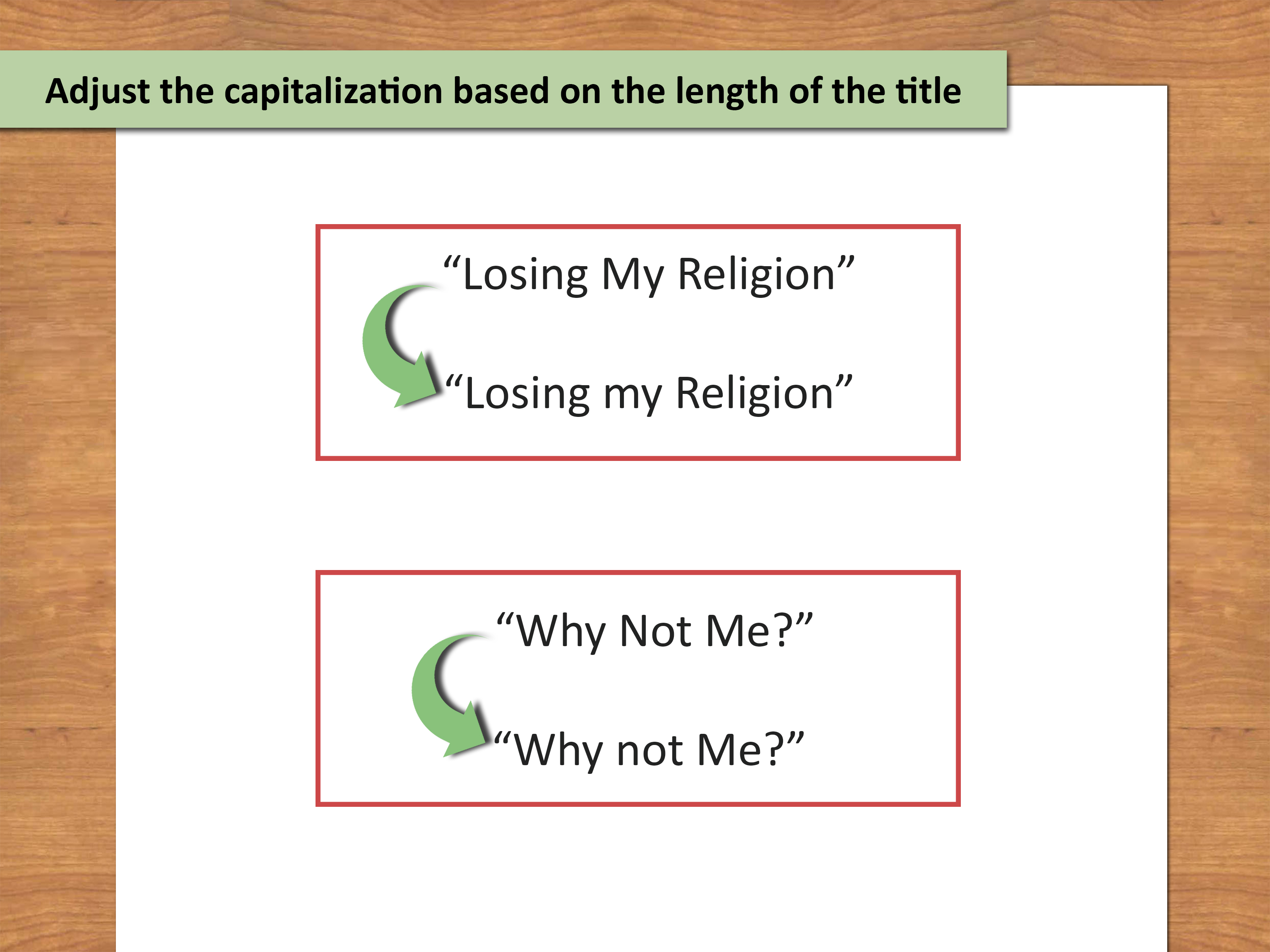 3 Ways To Punctuate Titles