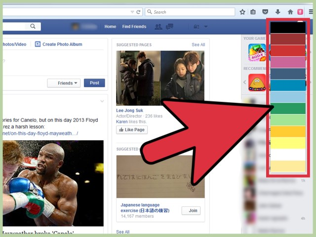 How to Change Facebook Color Scheme: 23 Steps (with Pictures)