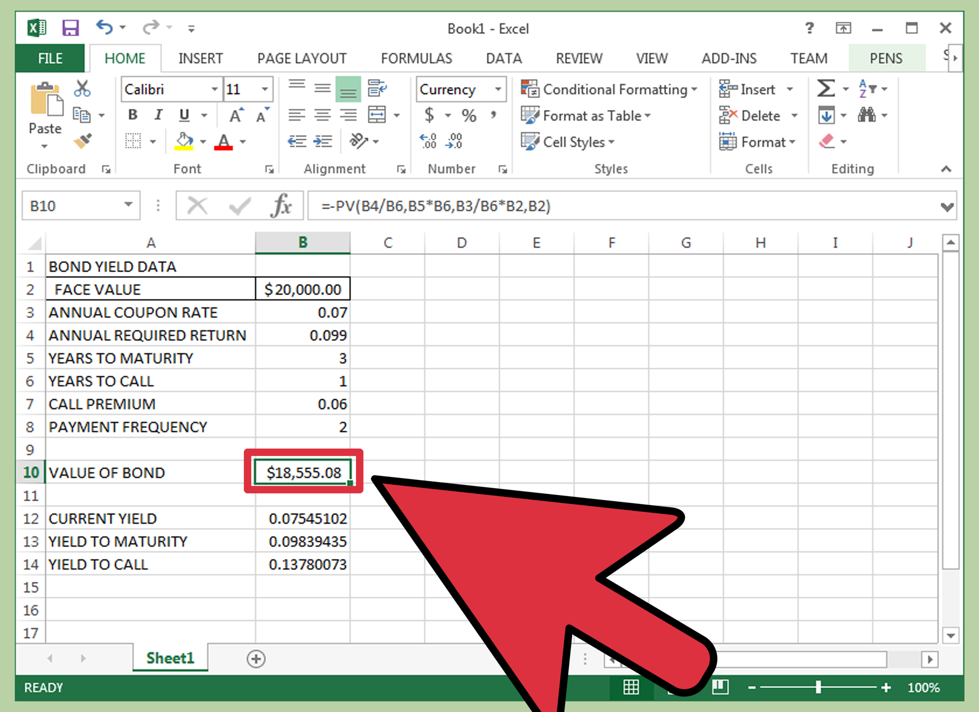 Current Market Price Calculate Current Market Price Of A